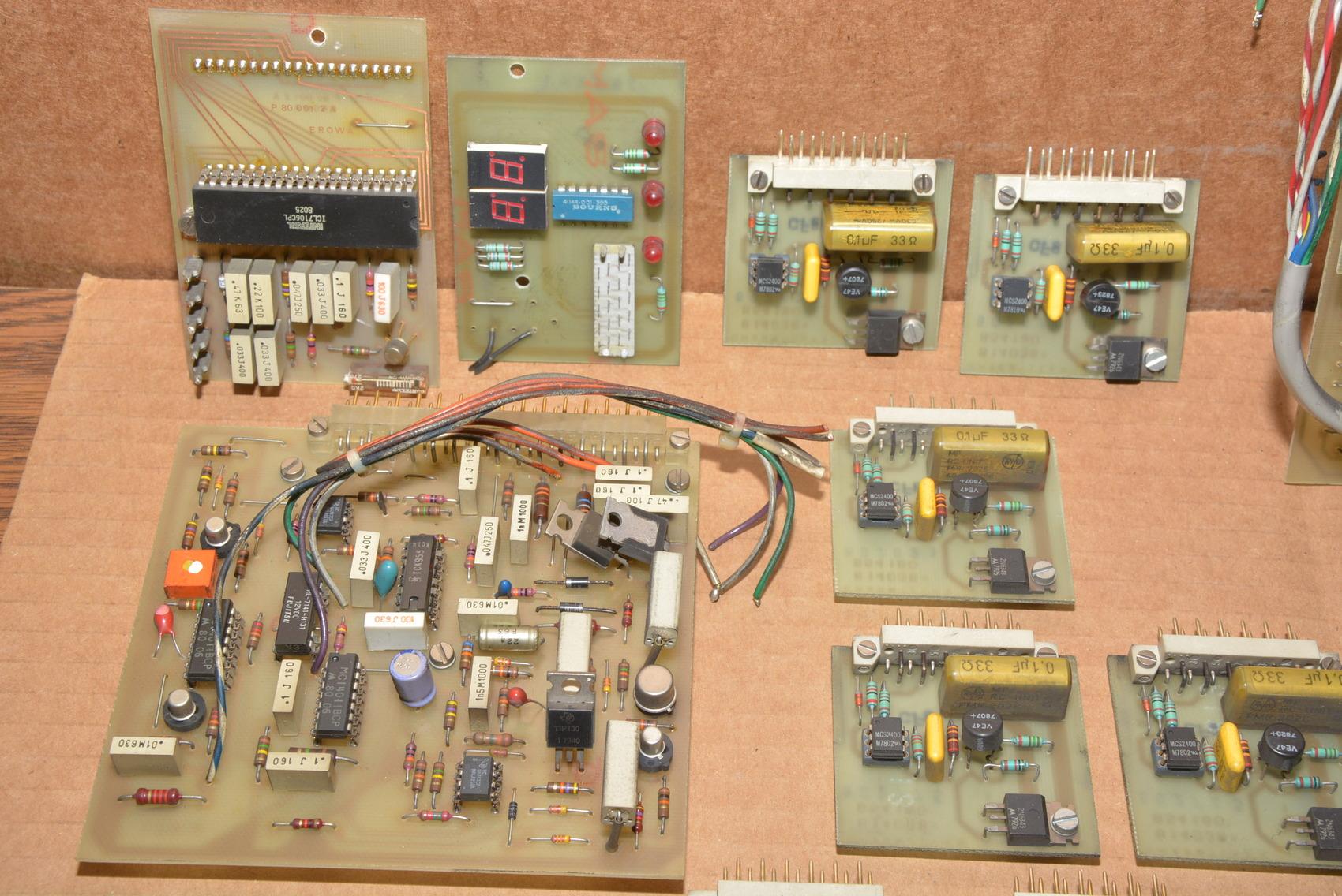 19charmilles Erowa E 200 Eg50 Edm Control Pcb Boards Inv13887 Ebay Printed Wiring 19 Charmilles
