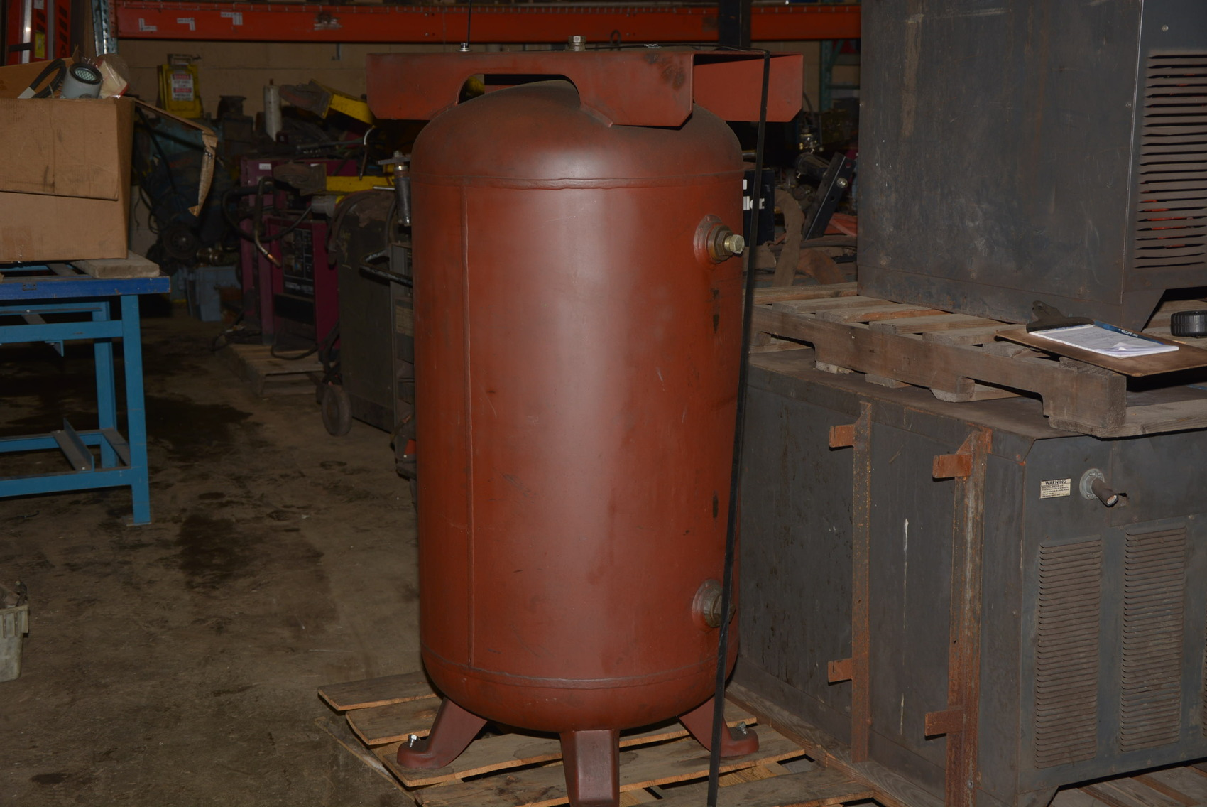 1995 80 Gallon Air Compressor Tank Surge Tank Inv 12972