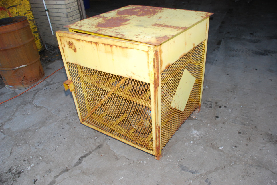 33 quot  x 34 quot  x 39 quot  propane tank storage cabinet cage and four LP Storage Tank Outside 20 Lb Propane Tank Storage