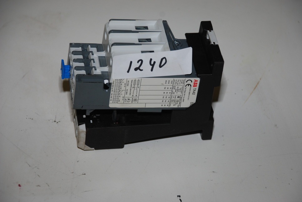 Abb Ta42 Db80 Ab80 Overload Relay Adjustable Contactor