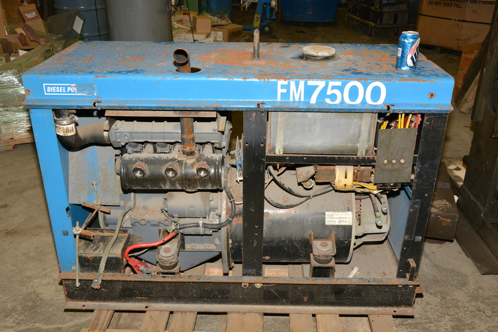 Dsc on Miller Welding Machine Parts
