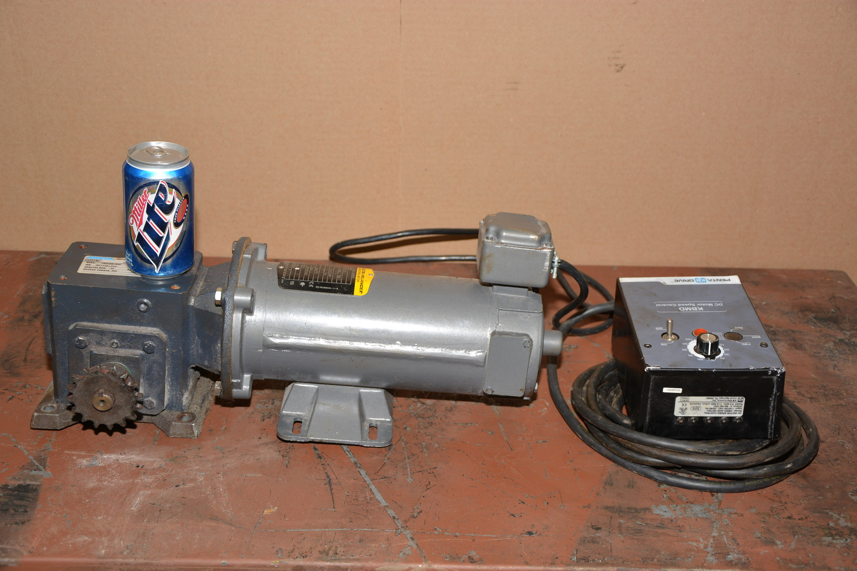 12293 Of Baldor 1 2 Hp Dc Gear Motor W Speed