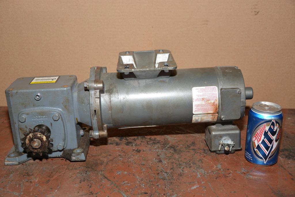 12298 Of Baldor 1 2 Hp Dc Gear Motor With Boston