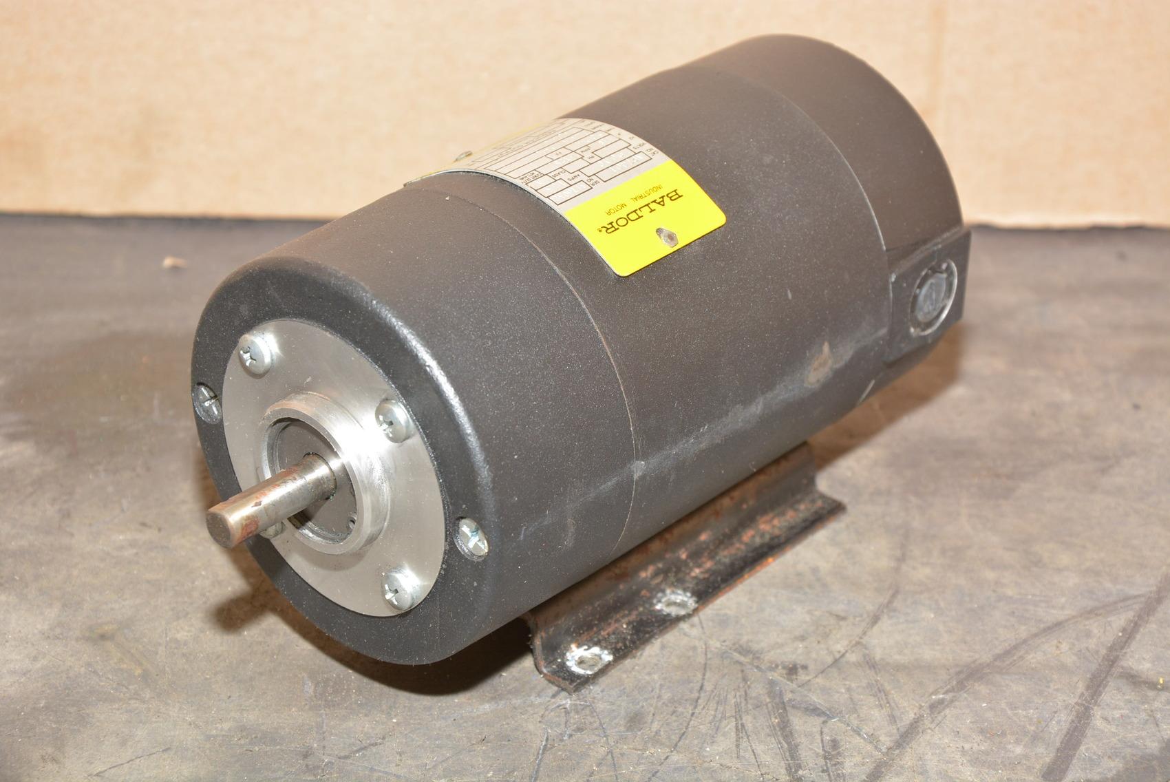 Baldor ap7401 dc motor 1 8 hp dayton single phase v s for Baldor single phase motor