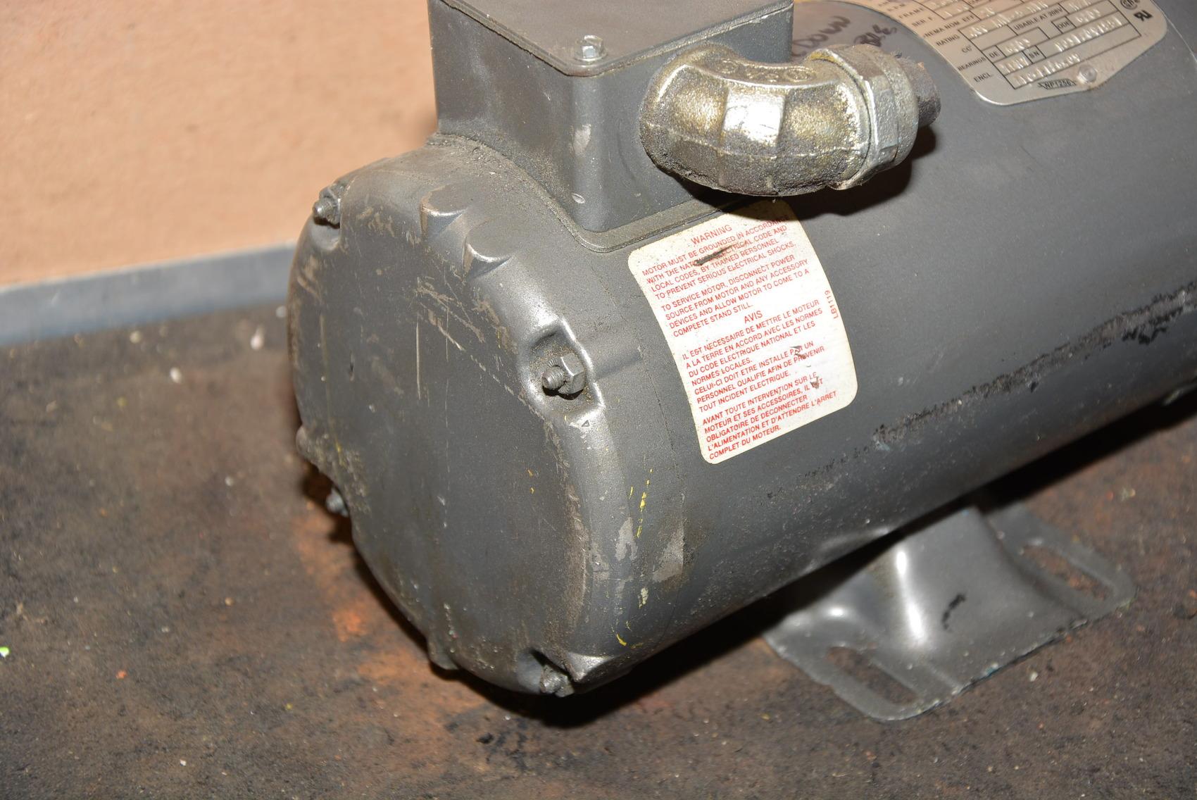 Baldor barnes 1 1 2 hp single phase 115v hydraulic pump for Baldor 2 hp single phase motor