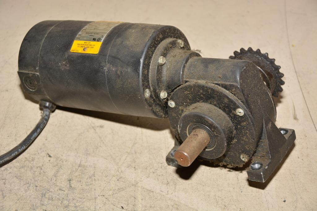 Baldor Gp7406 1 4 Hp Dc Gear Motor Spec 90 Vdc