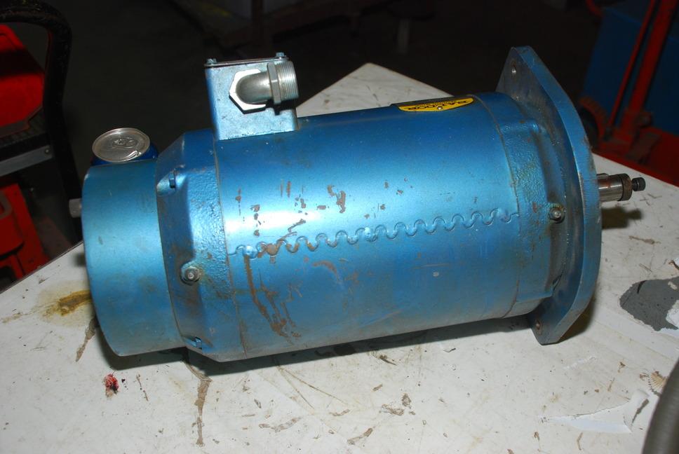 Baldor Spindle Brake Motor 5 7 5 Hp 3 Phase For Lagunmatic