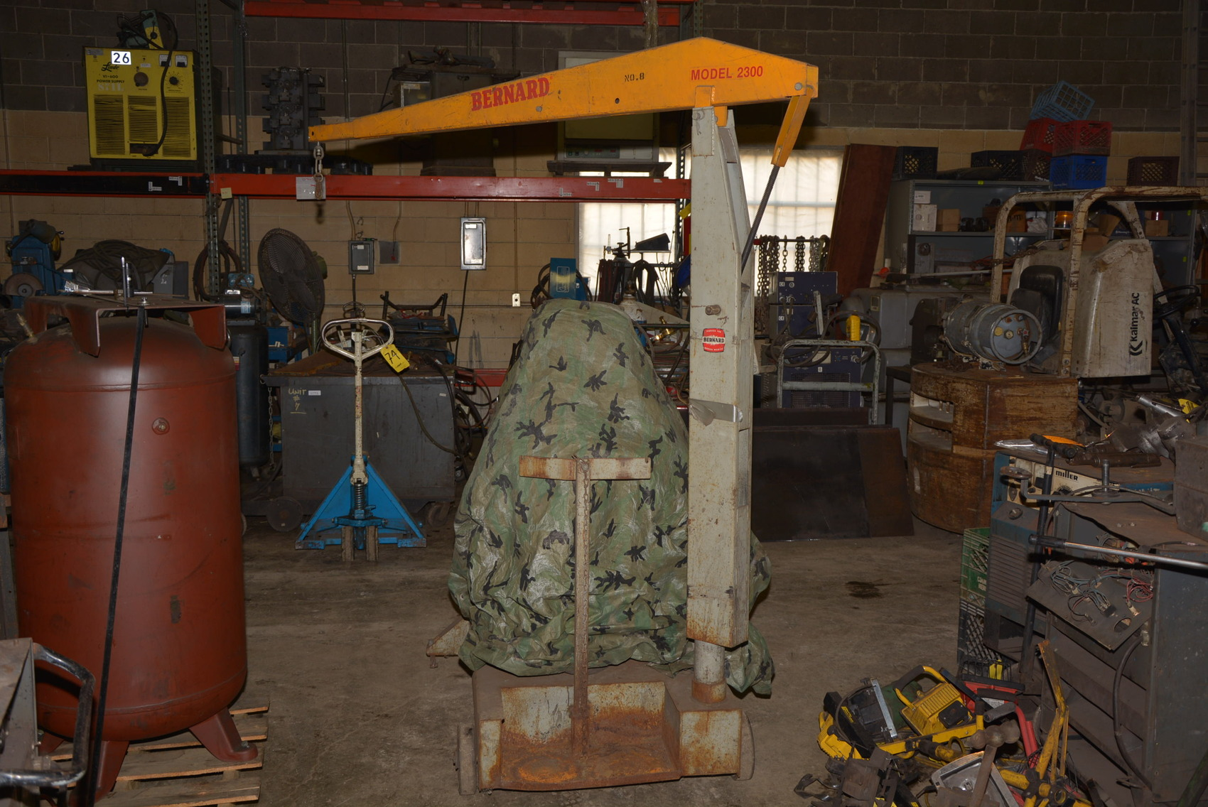 Mig Welder For Sale >> Bernard Model 2300 MIG Welding Boom Cart for Welder fabricator INV=13010