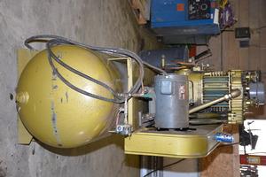 Binks Quincy Qr 25 10 Hp Reciprocating Air Compressor Inv