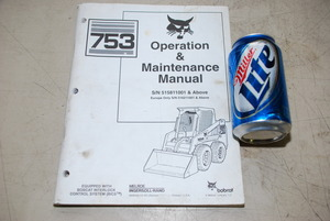 Bobcat 753 Operation and Maintenance Manual S N 515811001 and above