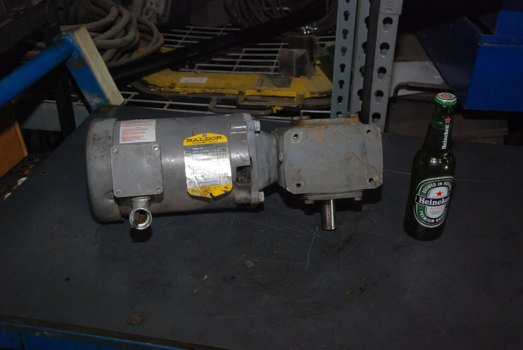 Boston Gear 1 2hp Gear Motor Ratio 60 3ph Inv 21330 Ebay