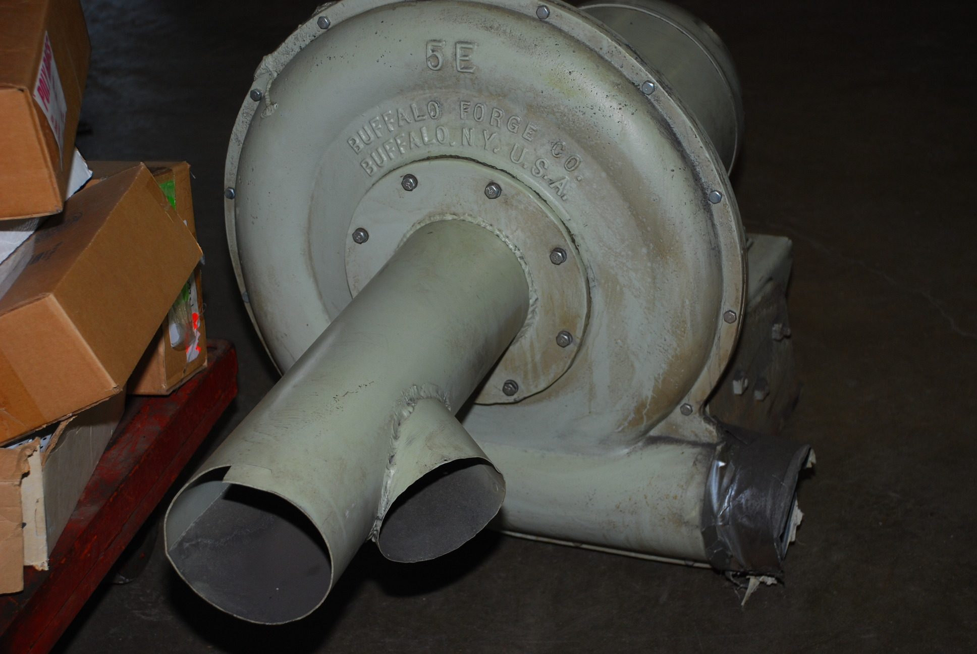 9878-0013 jpg of Buffalo Forge Industrial Blower JX 5E 7 5HP