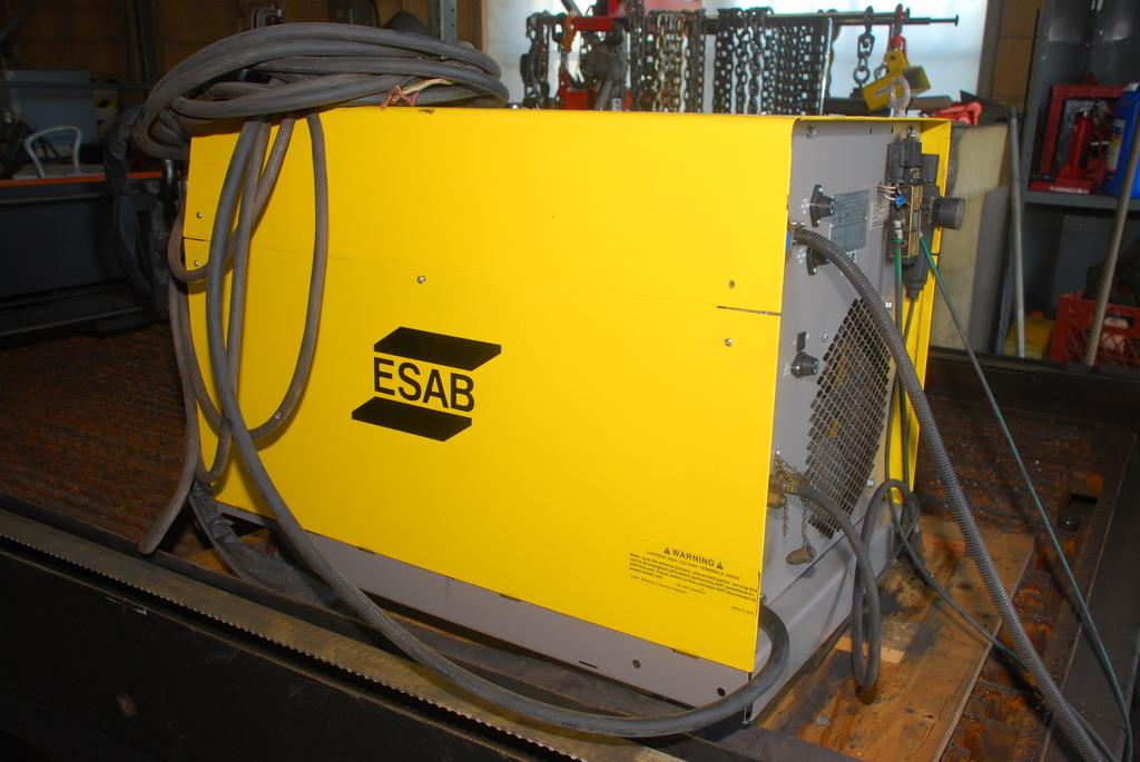 Cnc Plasma Cutting Table 5x10 Ft With Esab Esp 100i Plasma Cutter Inv 5821 Ebay