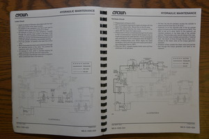 crown rc 3000 series lift truck maintenance and parts manual 13742