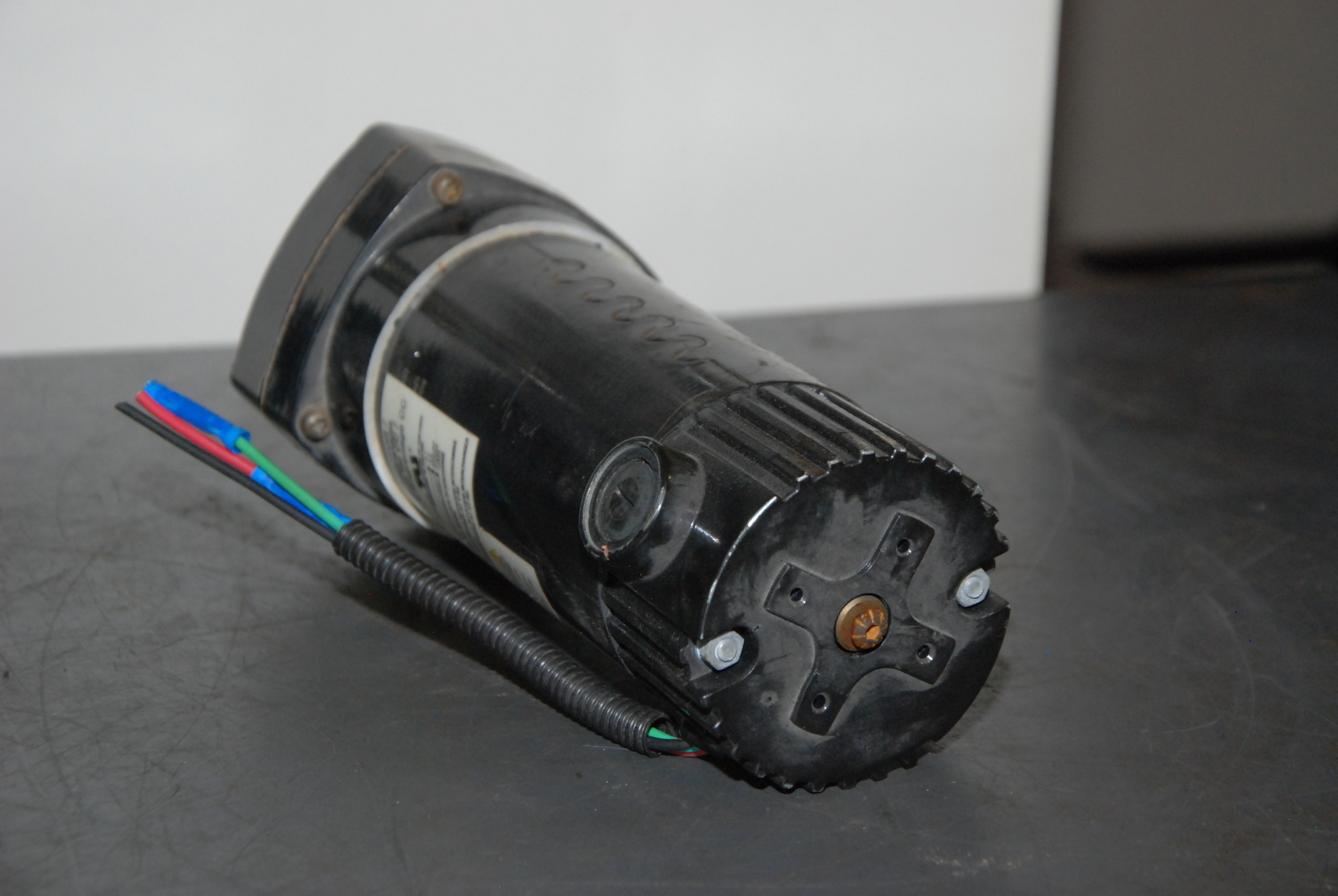 Dayton 1 10hp Dc Gearmotor Ratio 12 9 1 139rpm W Speed