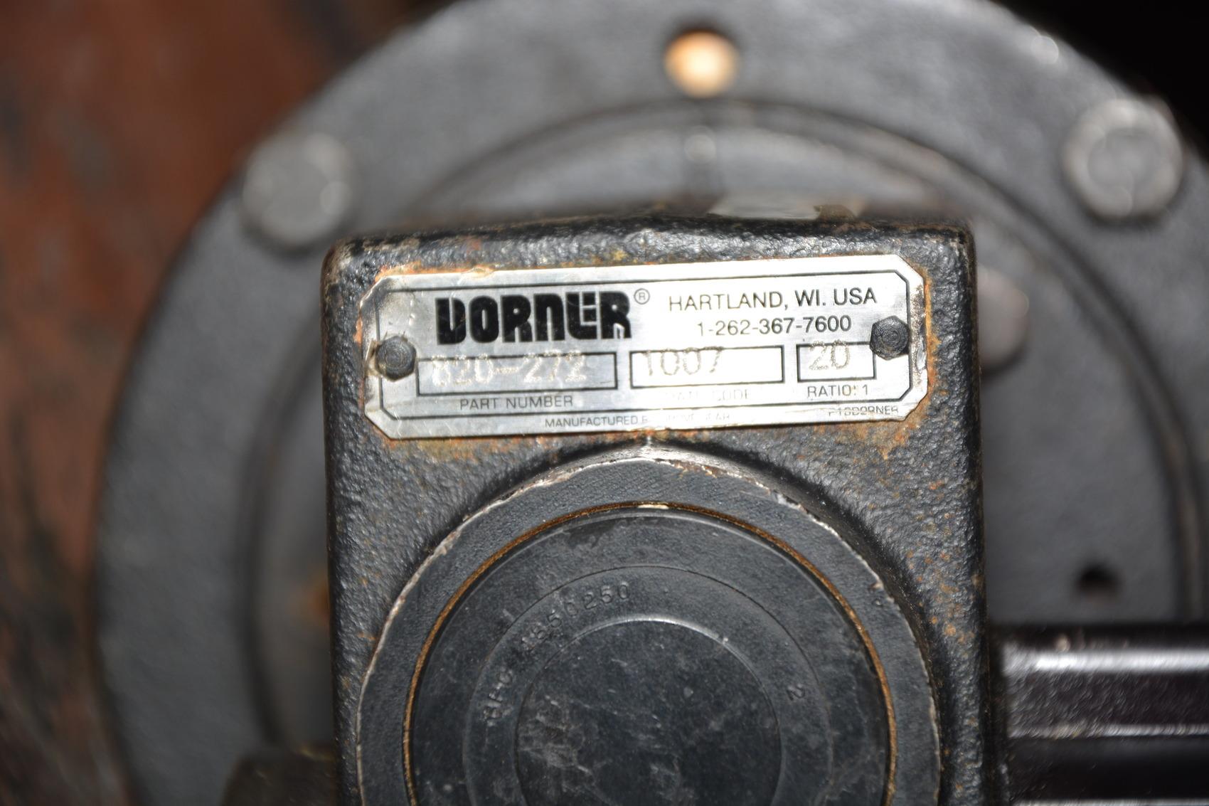 Dayton 1 2 hp type 2m168d dc gear motor dorner 20 1 ratio Dorner motor