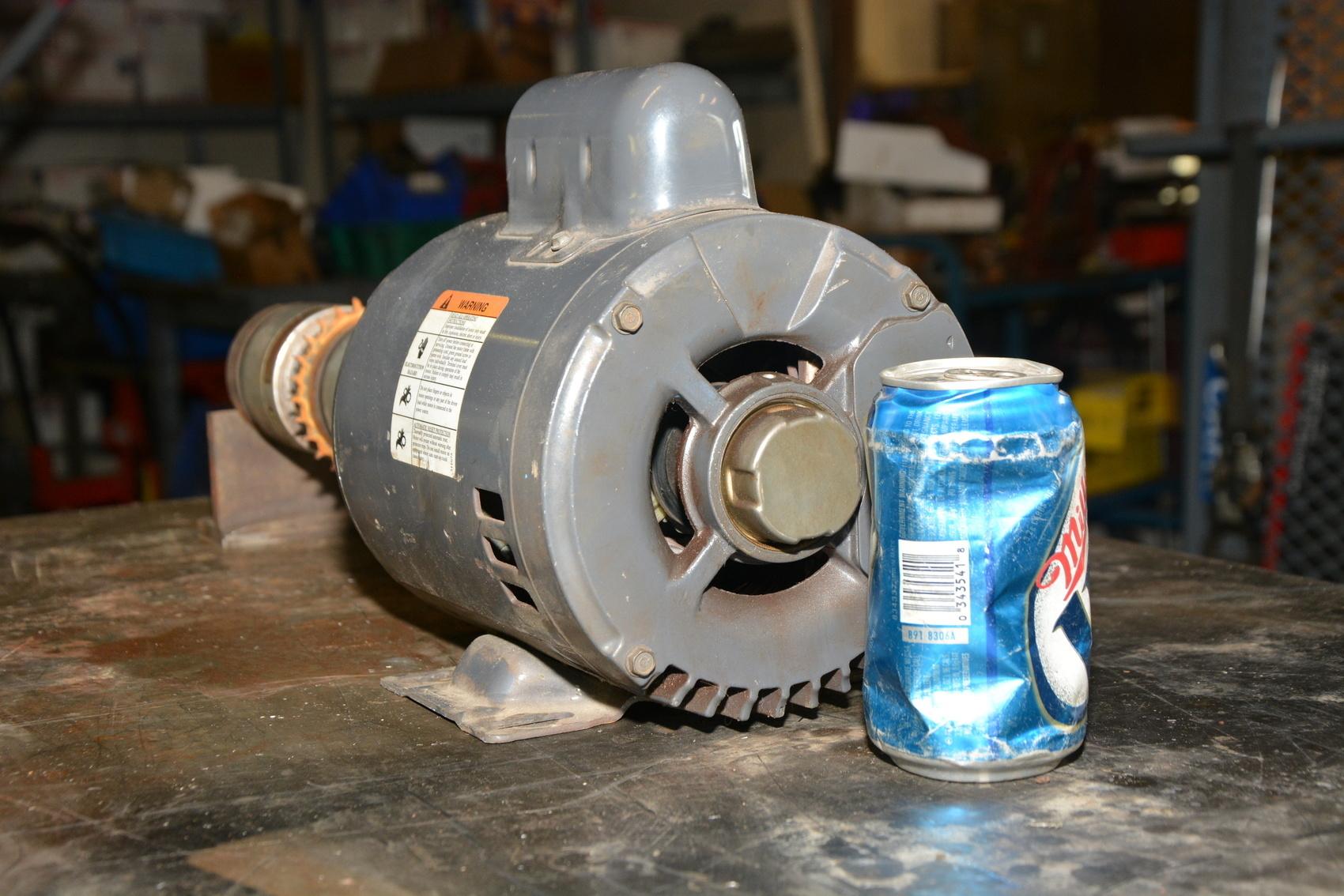 Dayton 3k218c capacitor start motor w horton and nexen for Motor start capacitors for sale