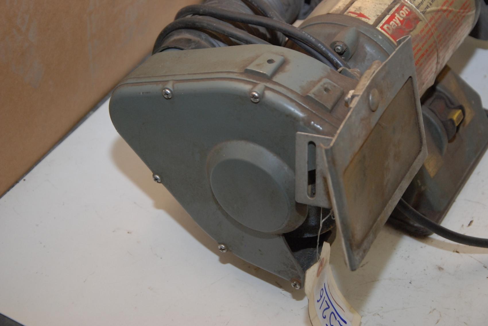 Dayton 4z672c 6 Quot Single Phase Bench Grinder Inv 25216 Ebay