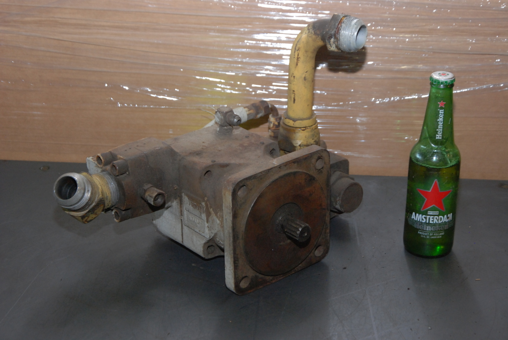Denison 93471543 hydraulic pump or motor grove crane inv for How to size a hydraulic pump and motor