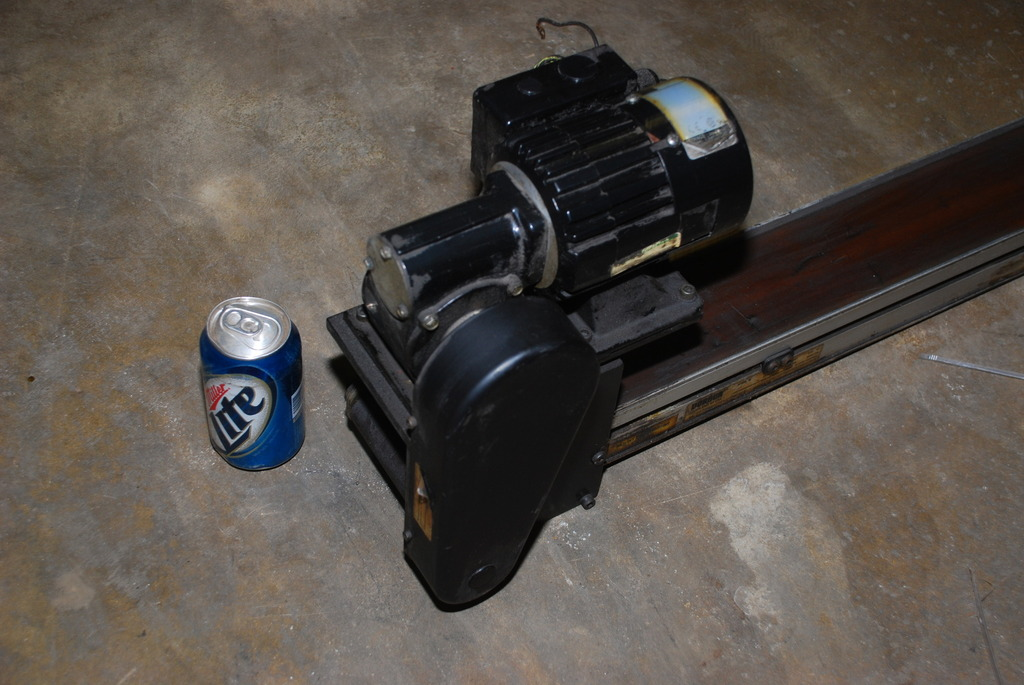 Dorner 2100 Series Conveyor Belt 36 X 4 With Bodine