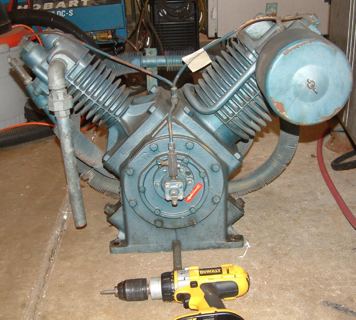 Help Me Plumb My Compressor Archive The Garage Journal Board Leroi Dresser