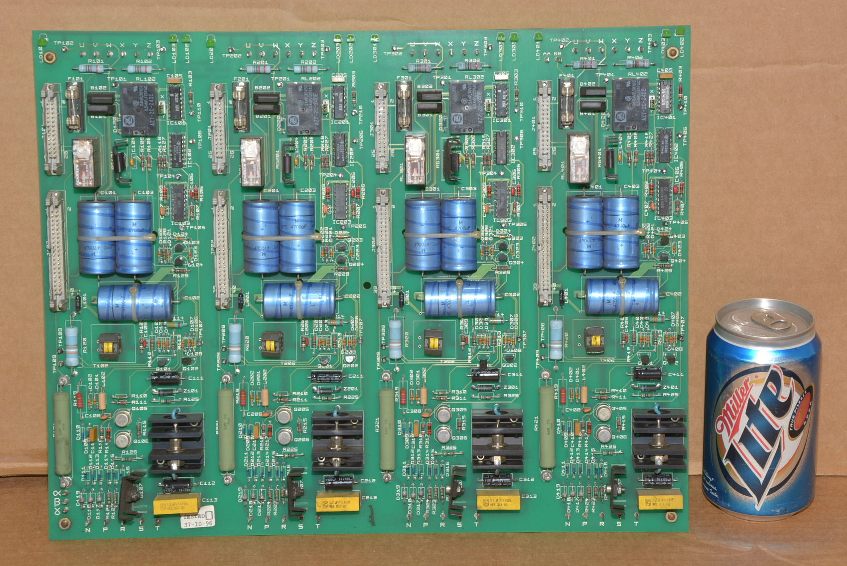 Circuit Card Assembly : Circuit board assembly industrial electronic components