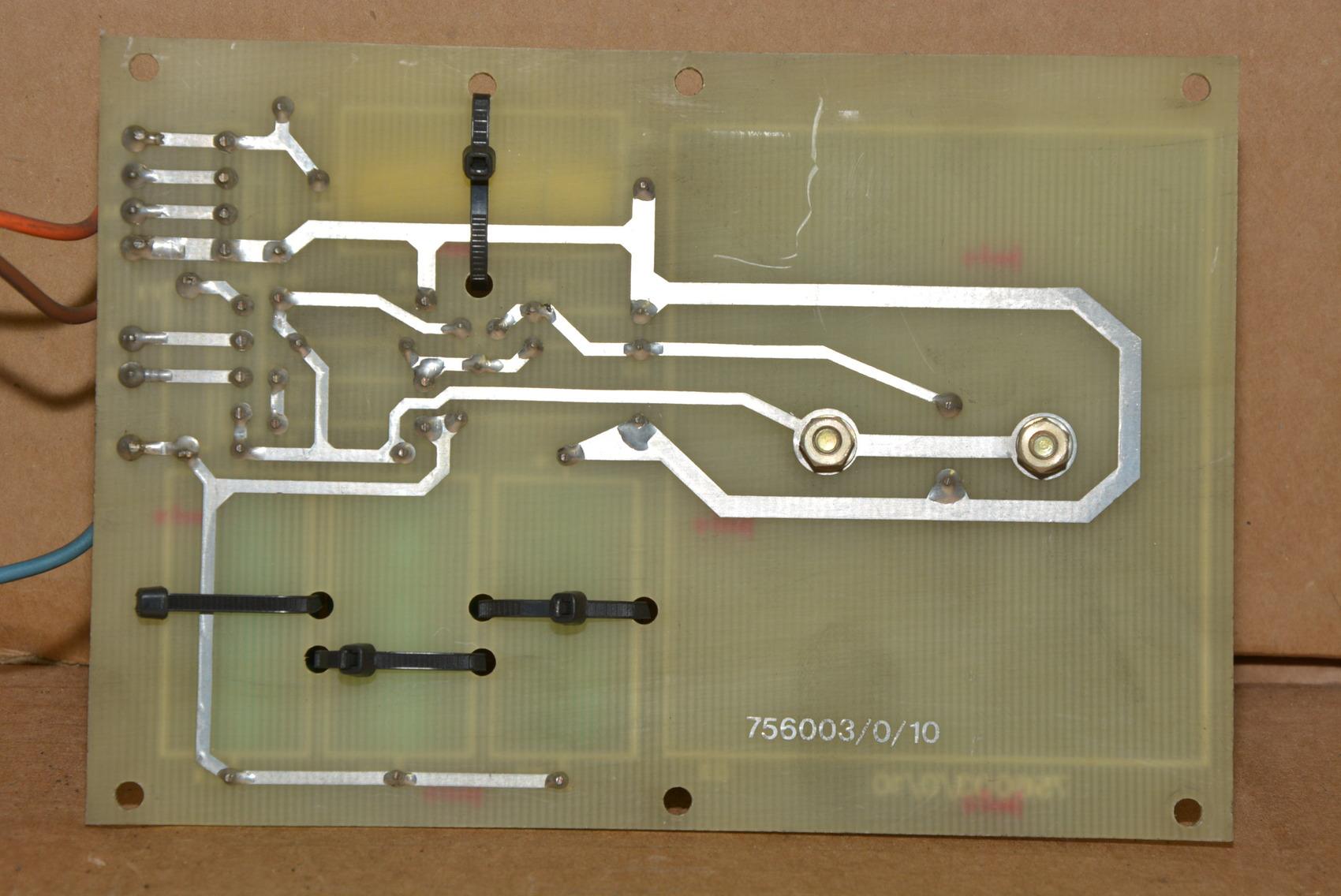 Printed Wiring Assembly : Elox fanuc tape cut printed circuit board