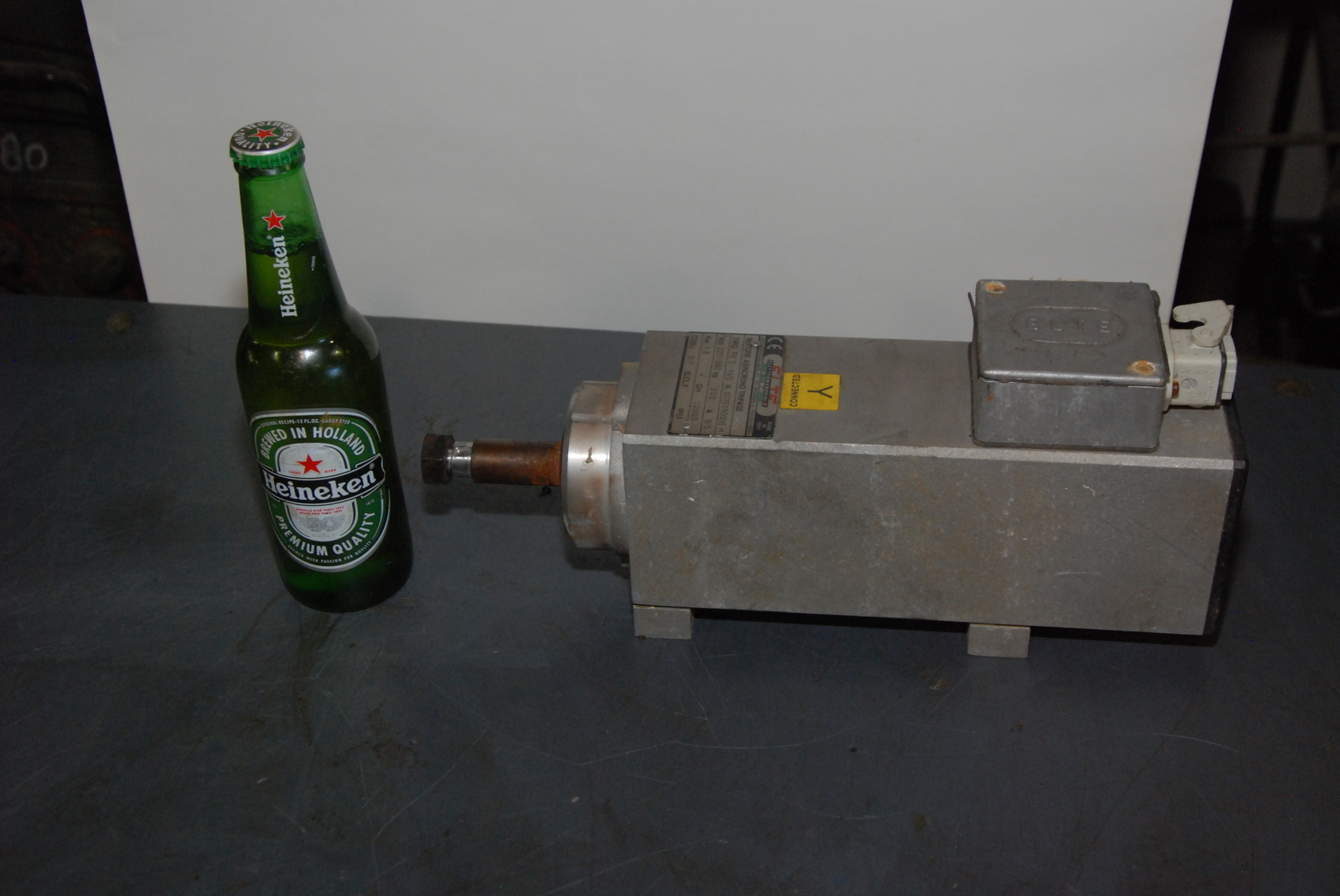 Elte Pe3 14 2 Electric Spindle Router Motor 3ph 1 8kw