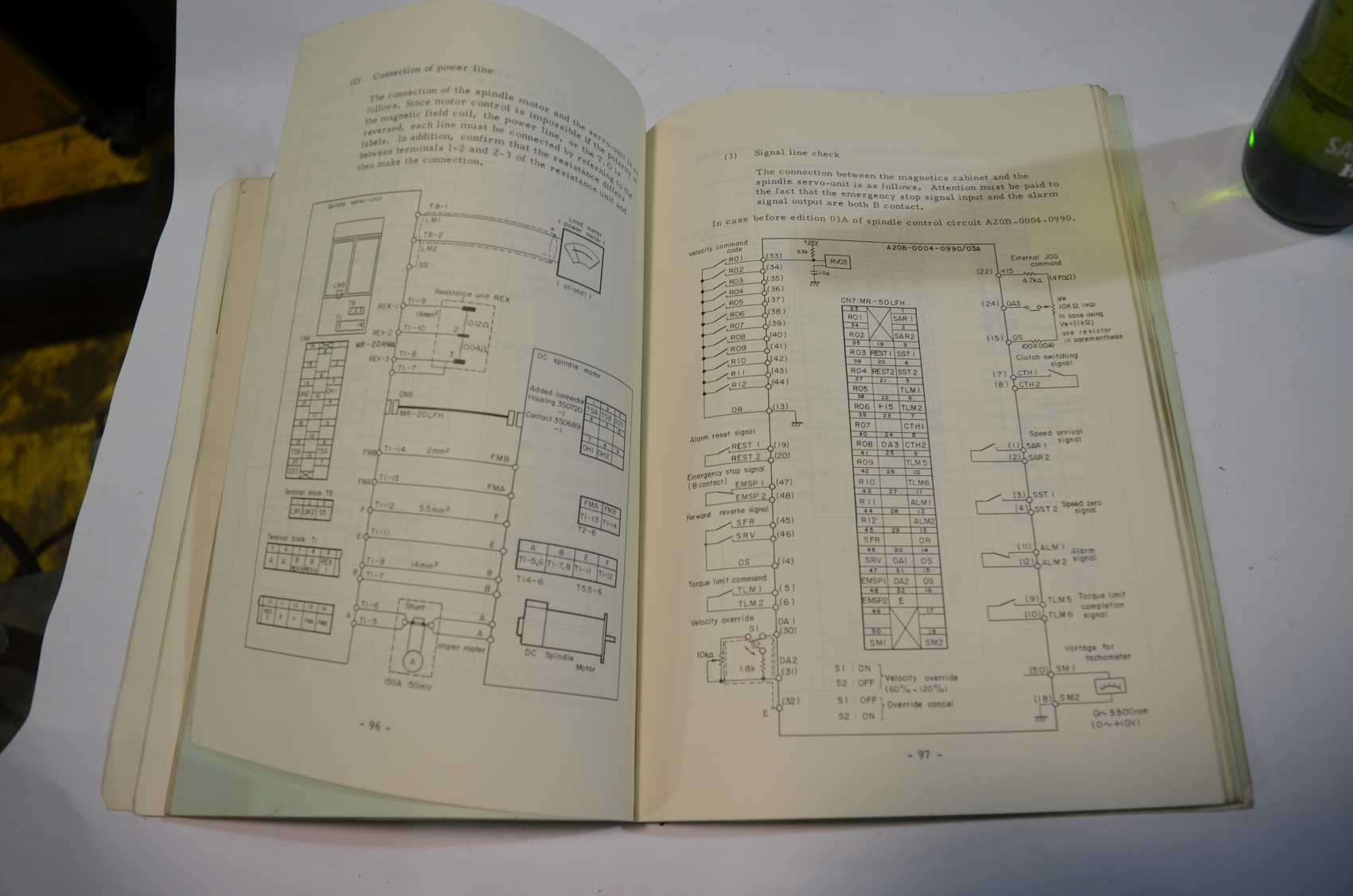 Fanuc Spindle Motor Wiring Diagram Dc. . Wiring Diagram on
