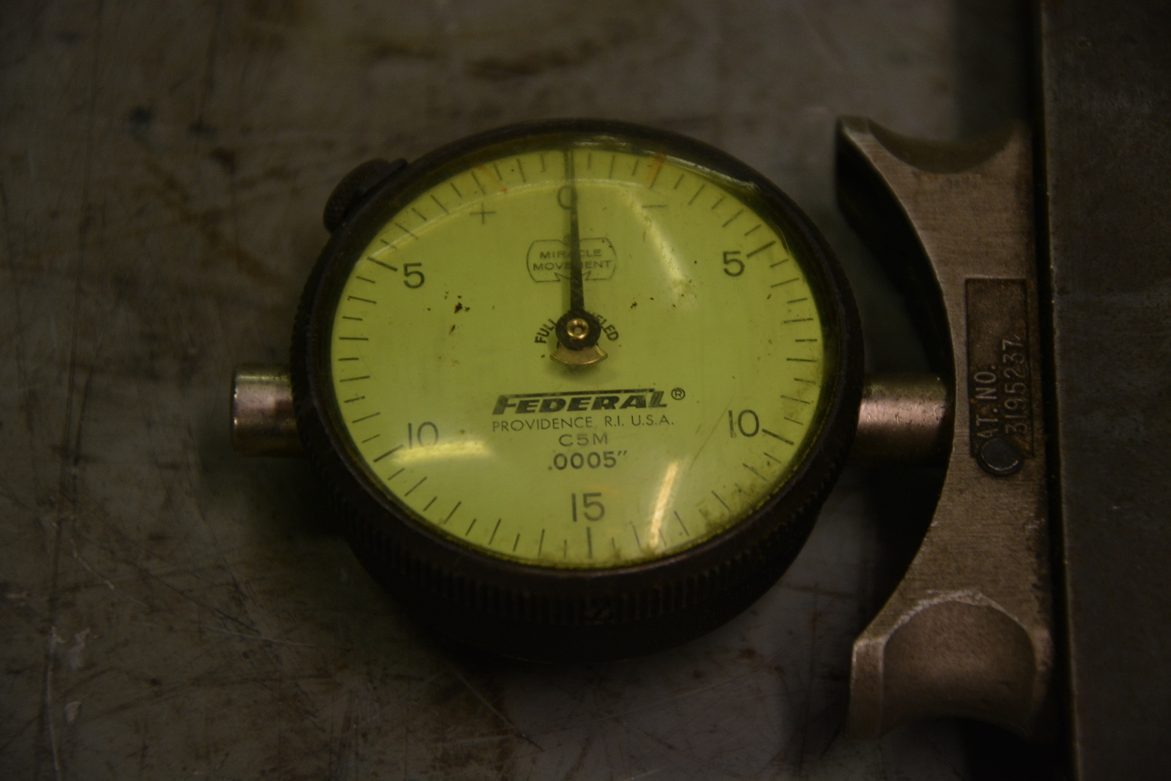 Federal Indicators Gages : Federal c m dial indicator gauge quot inv ebay