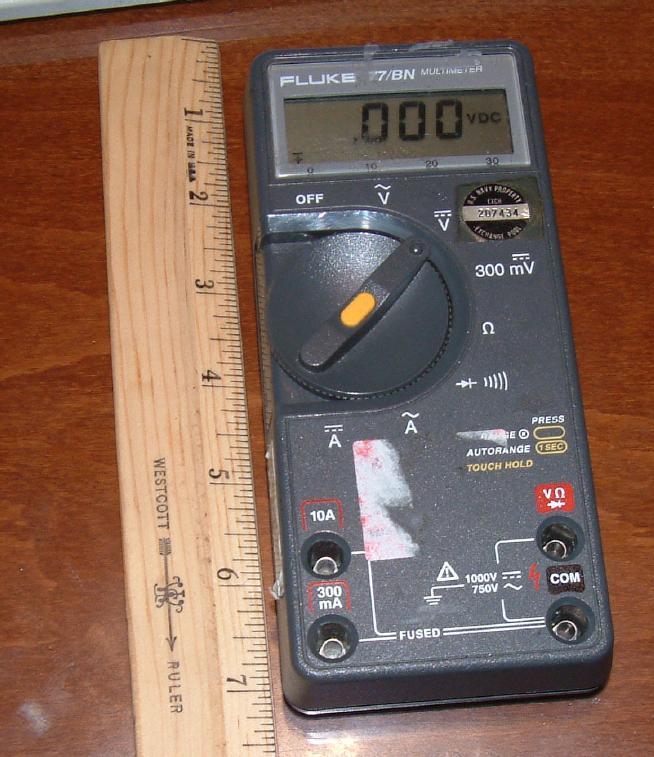 Fluke 77 Multimeter : Fluke bn g of multimeter autoranging