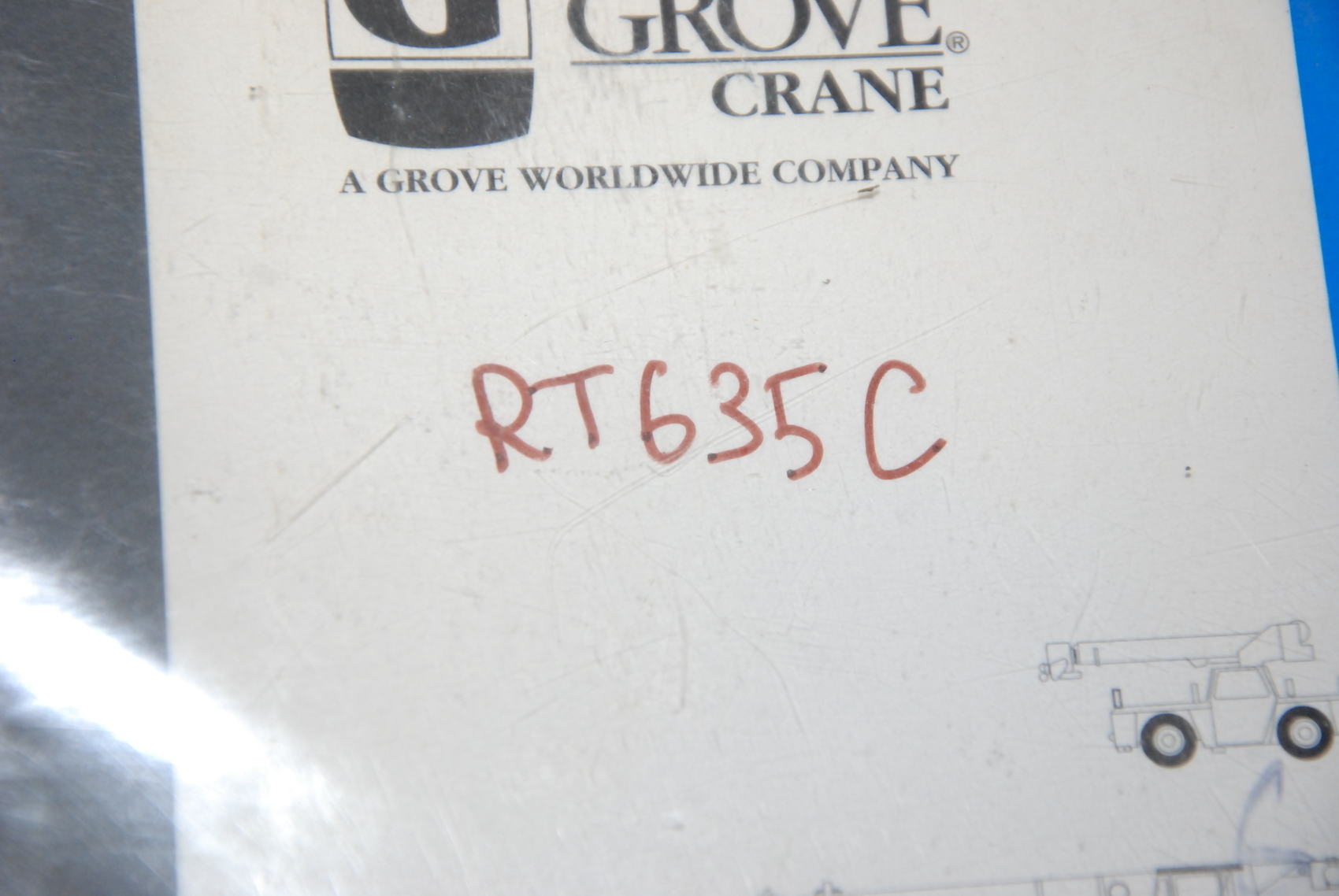 grove rt635c crane maintenance packages manual nopl inv 22828 ebay rh ebay com