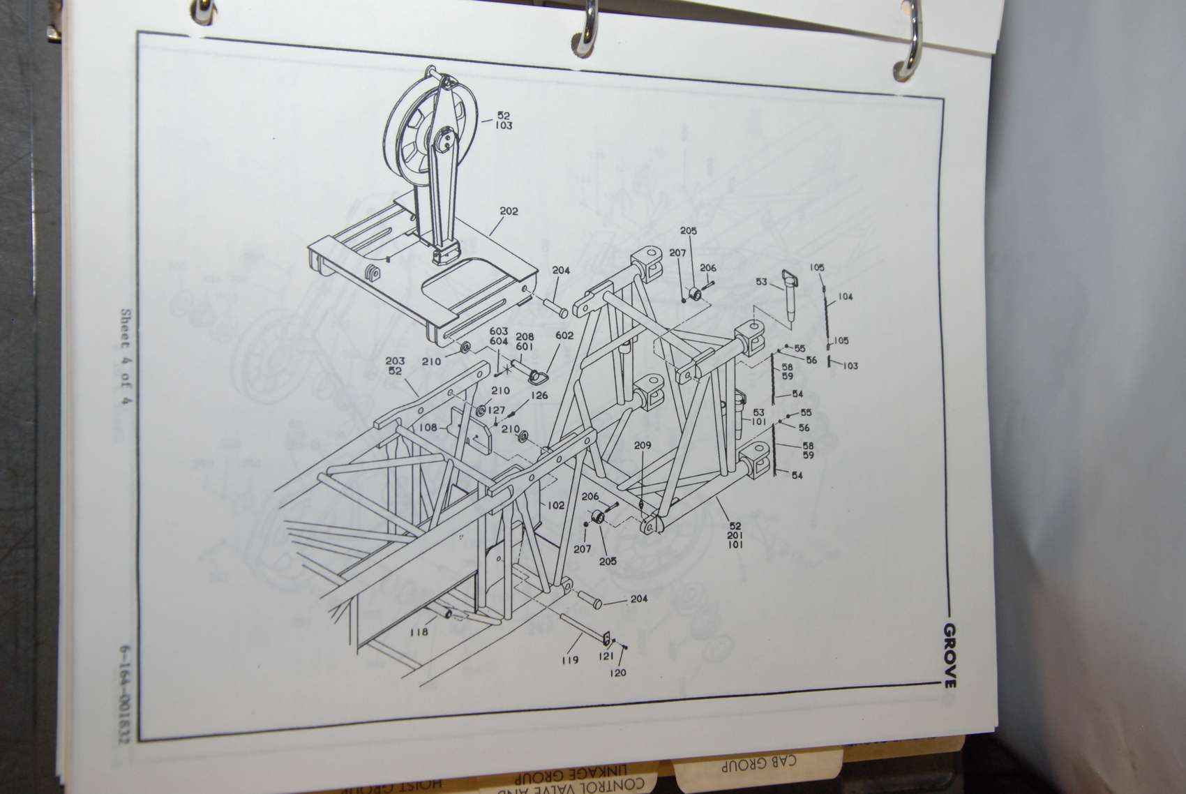 GROVE-RT745-Crane-parts-manual-with-electric-schematic-