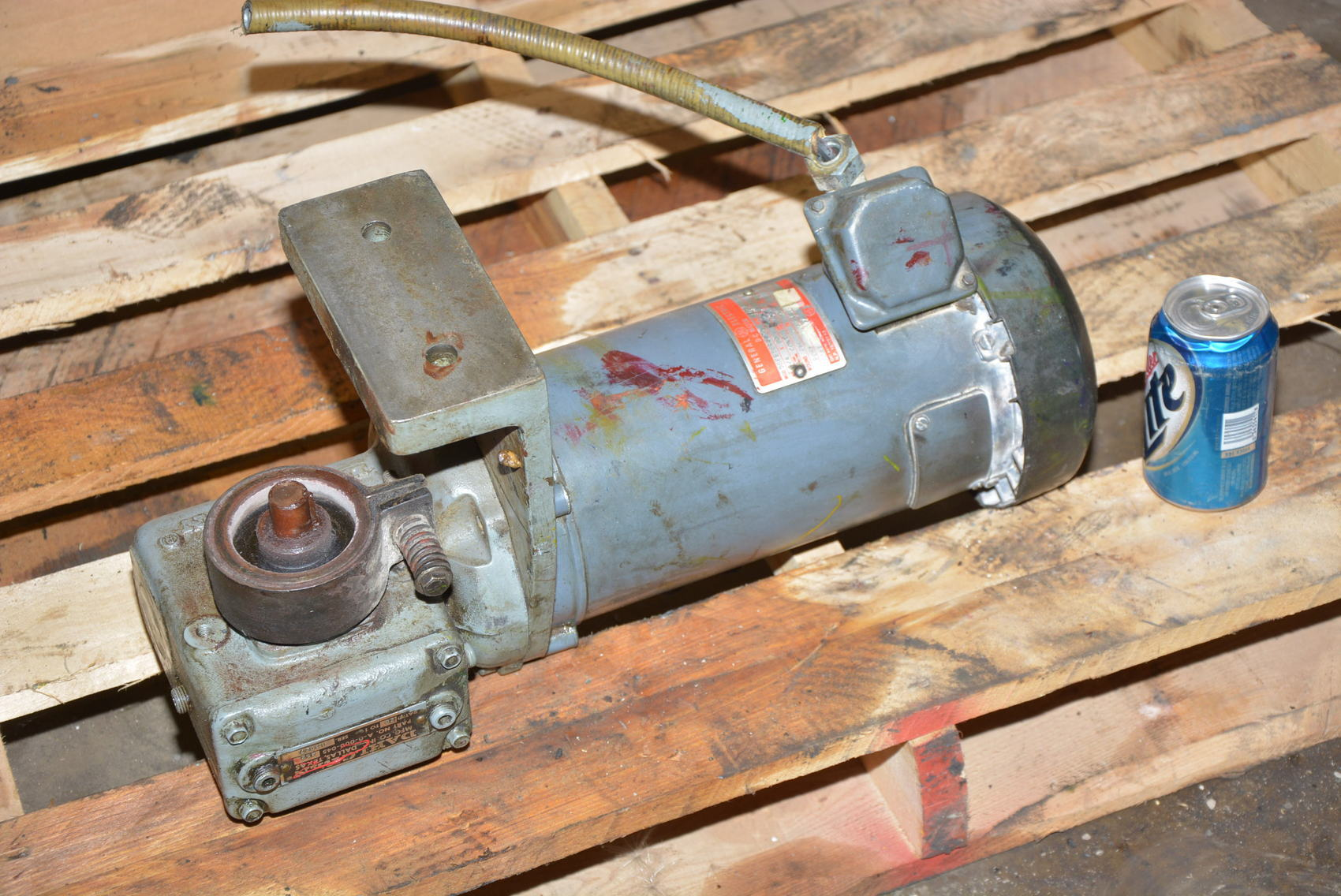 15128 of general electric gearmotor 20 1 3 4 hp for 3 4 hp electric motor