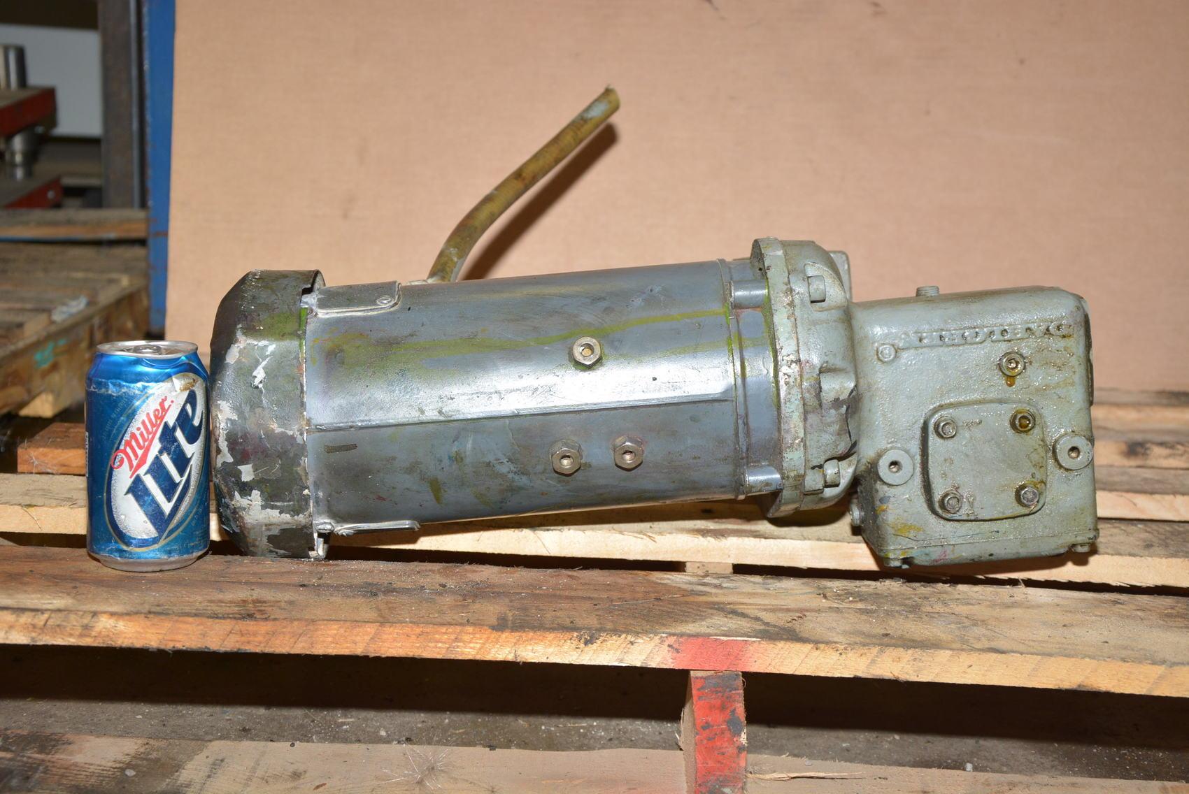 General electric gearmotor 20 1 3 4 hp 90v dc dahlgren for 3 hp dc electric motor