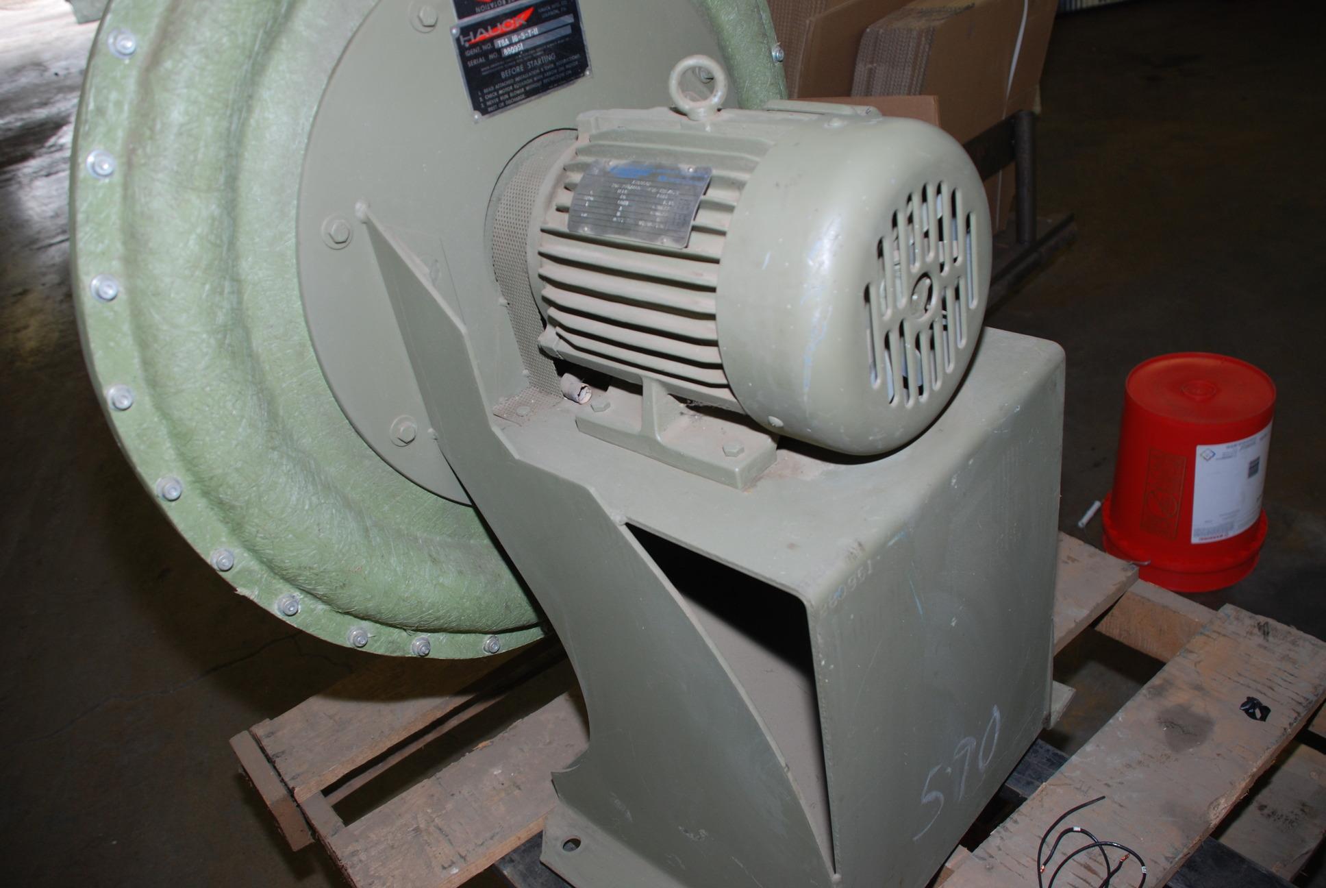 HAUCK 5 HP 5HP HIGH PRESSURE? Fan Blower TBA 16 5 T 11 5HP INV=49  #6B2823