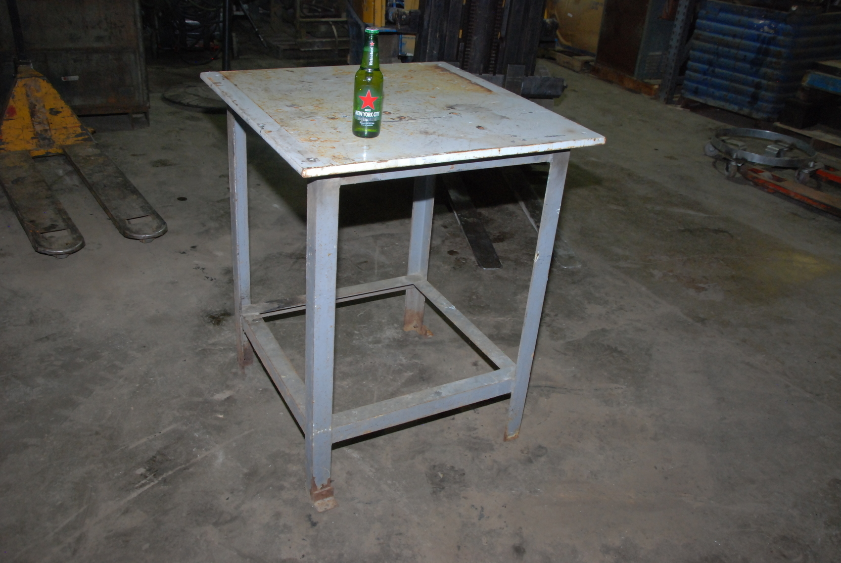 Heavy Duty Welding Table 30x30x37 Quot 3 4 Quot Thick Appx 220lbs