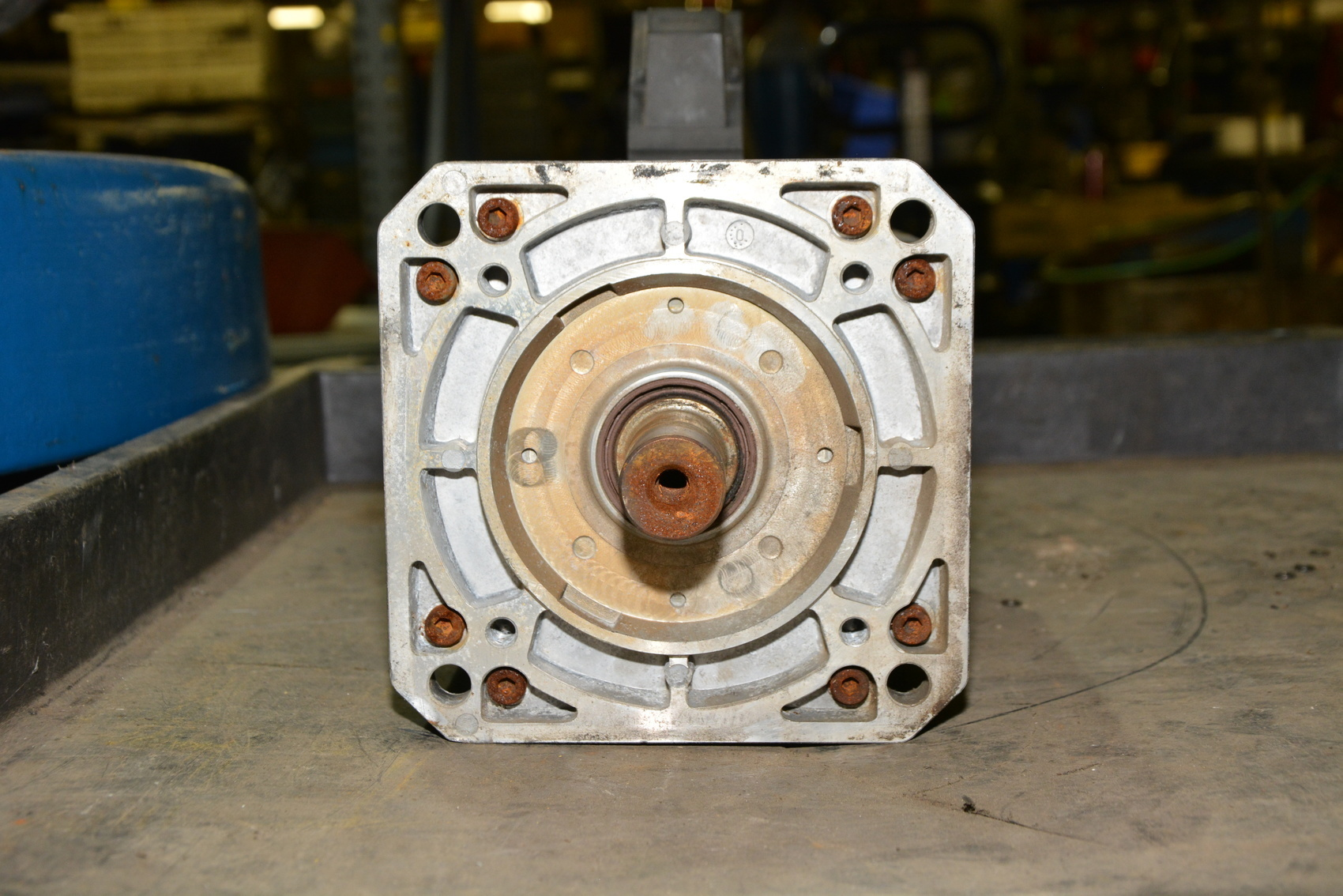 Heidenhain Cnc Qsy112b Brake Servo Motor 1 9kw 3ph 200hz