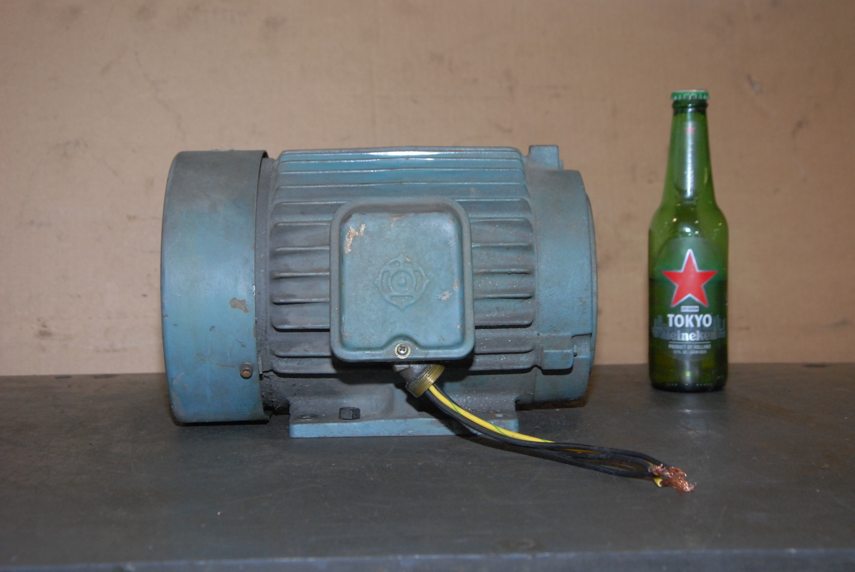 Hitachi 1.5KW Electric Motor;3 phase;1430/1720 RPM;hollow shaft pump ...