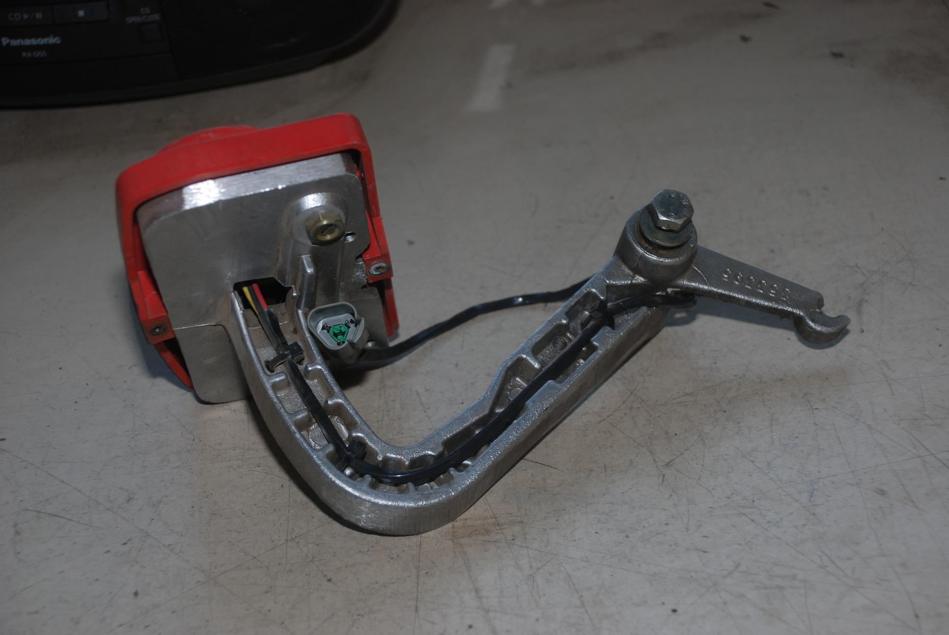 Fork Lift Pedals : Hyster forklift monotrol foot pedal inv