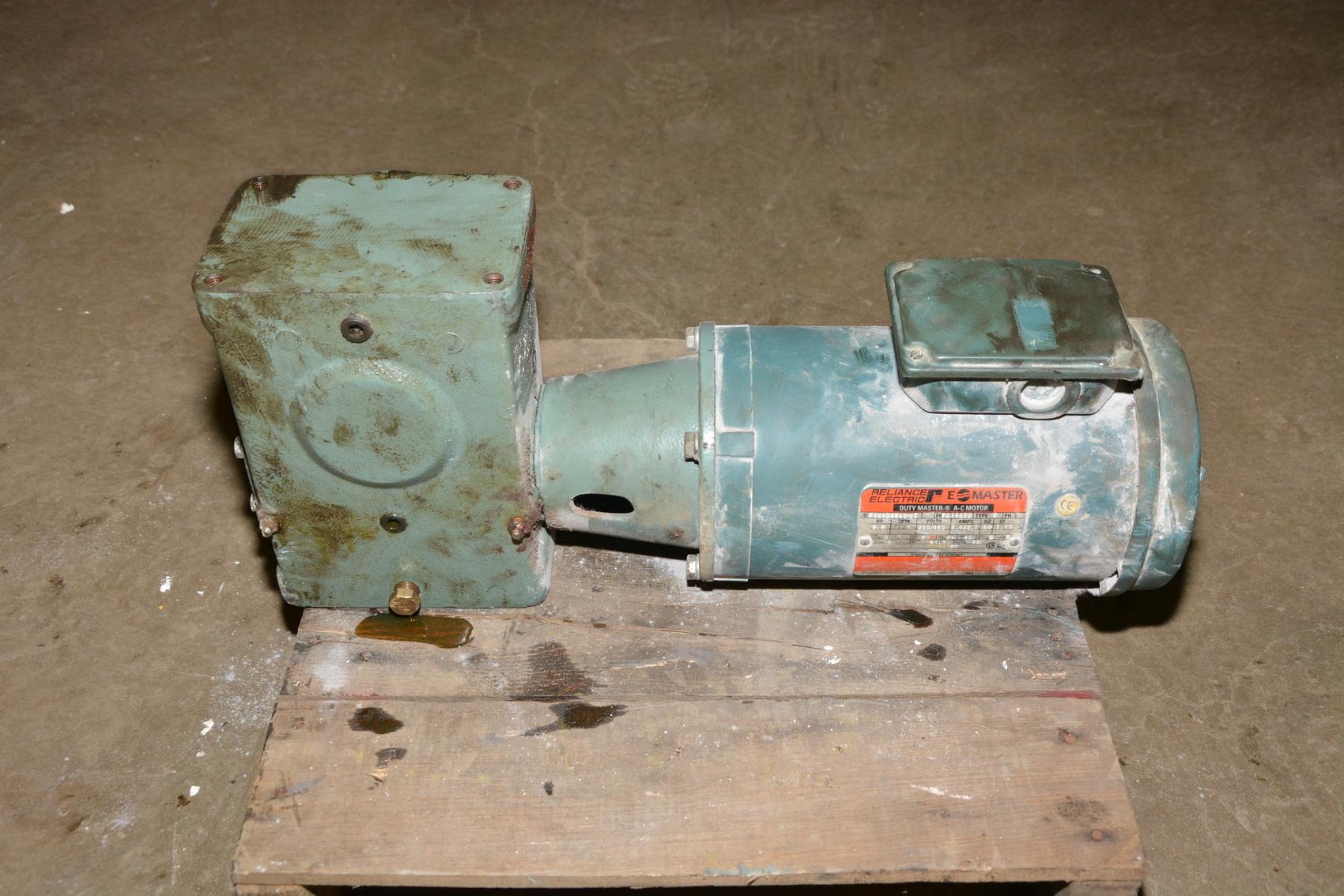 Hytrol 5ac 60 1 Rh Conveyor Worm Gearbox W Re 2 Hp
