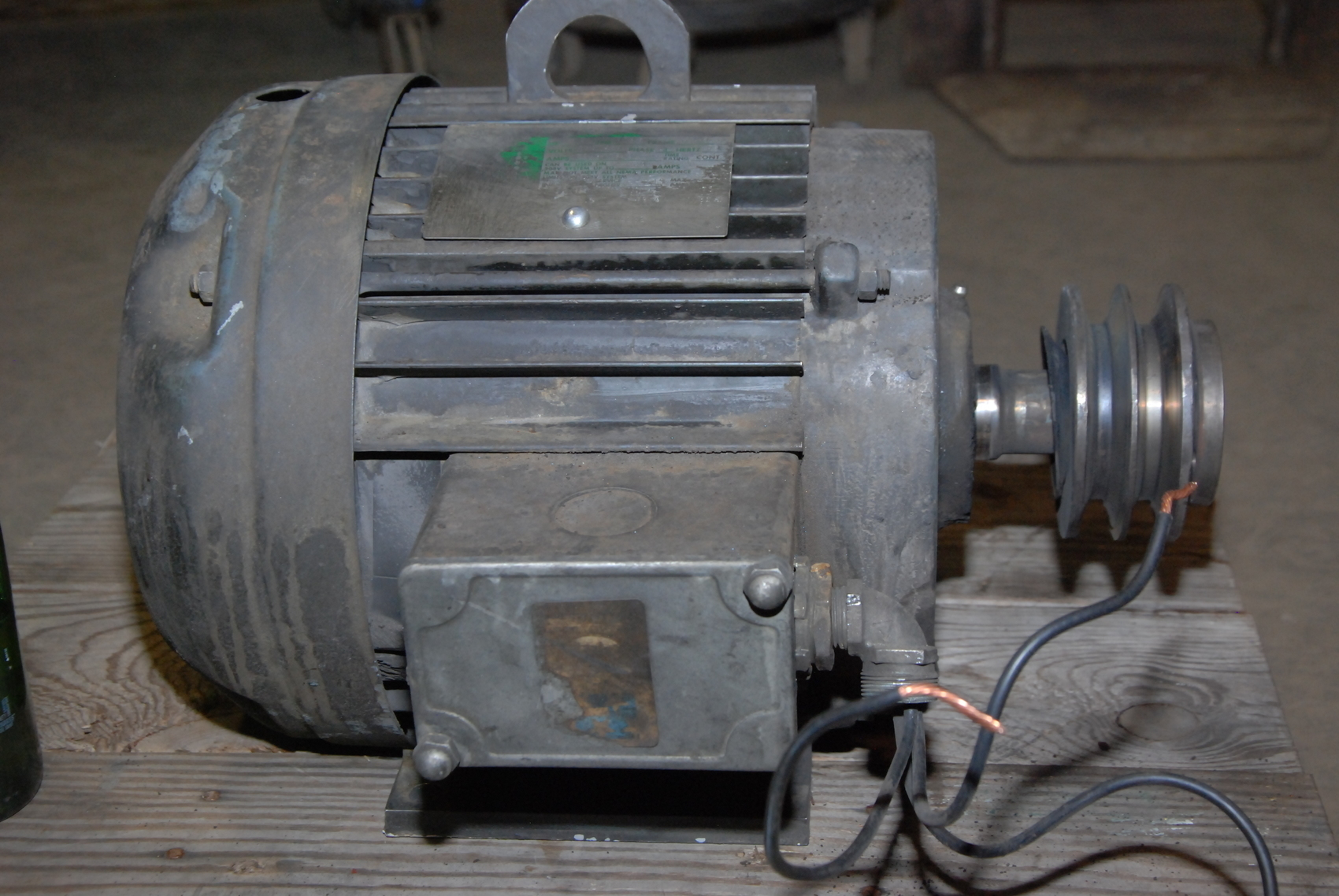 industrial heavy duty electric motor 7 5hp 17945 rpm frame