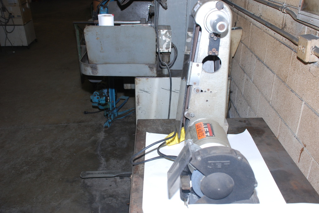 Jet Wilton Bench Grinder And Belt Sander Combination 3 4