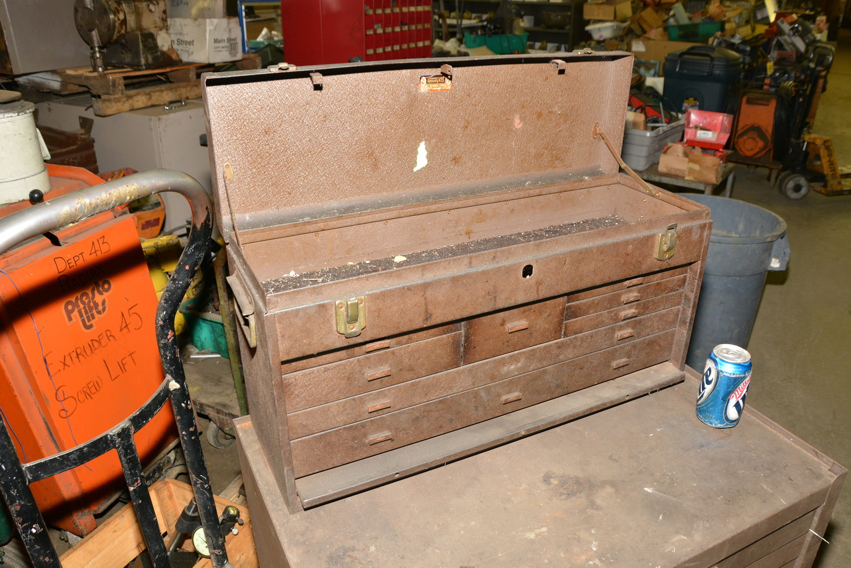 Kennedy Tool Box Roller Cabinet 7+8 Drawer Chest;29x20x49 ...