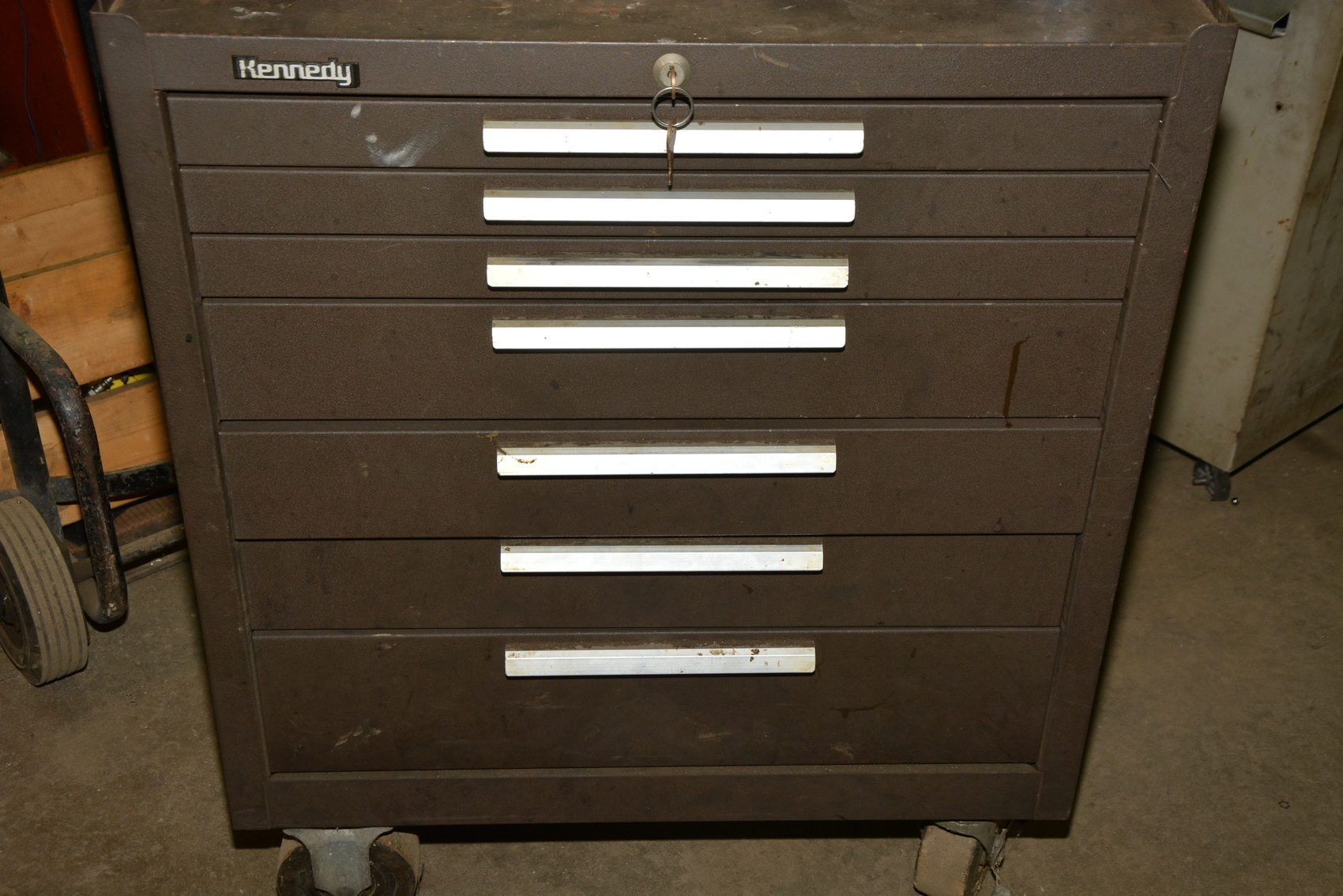 Kennedy Tool Box Roller Cabinet 7 8 Drawer Chest 29x20x49