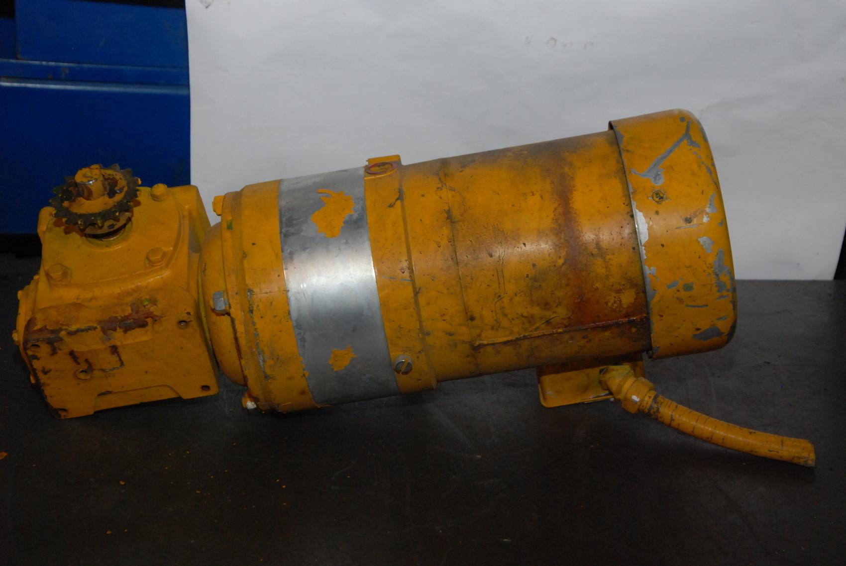 Leeson 1 2hp Electric Gear Motor C6t17fc10e Inv 22619 Ebay