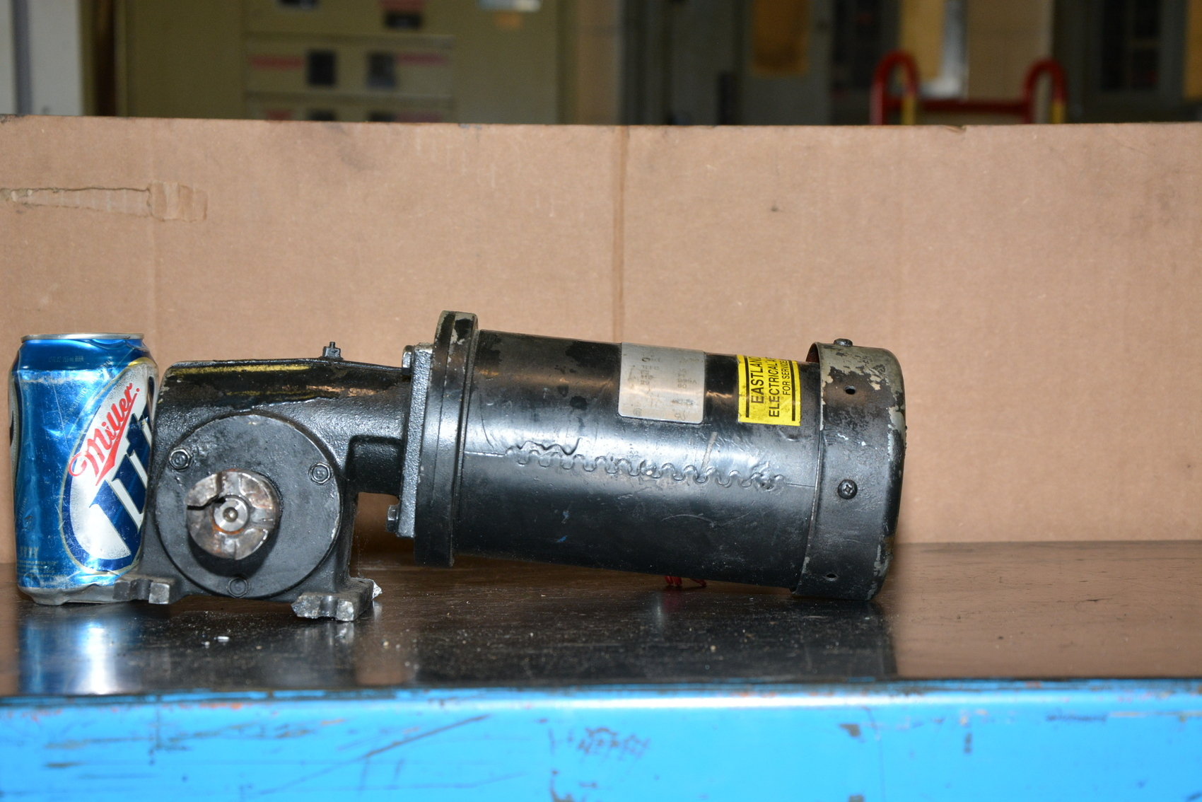 Leeson Cm38p17fz16a 115v Gear Motor 29 Rpm Inv 15654 Ebay
