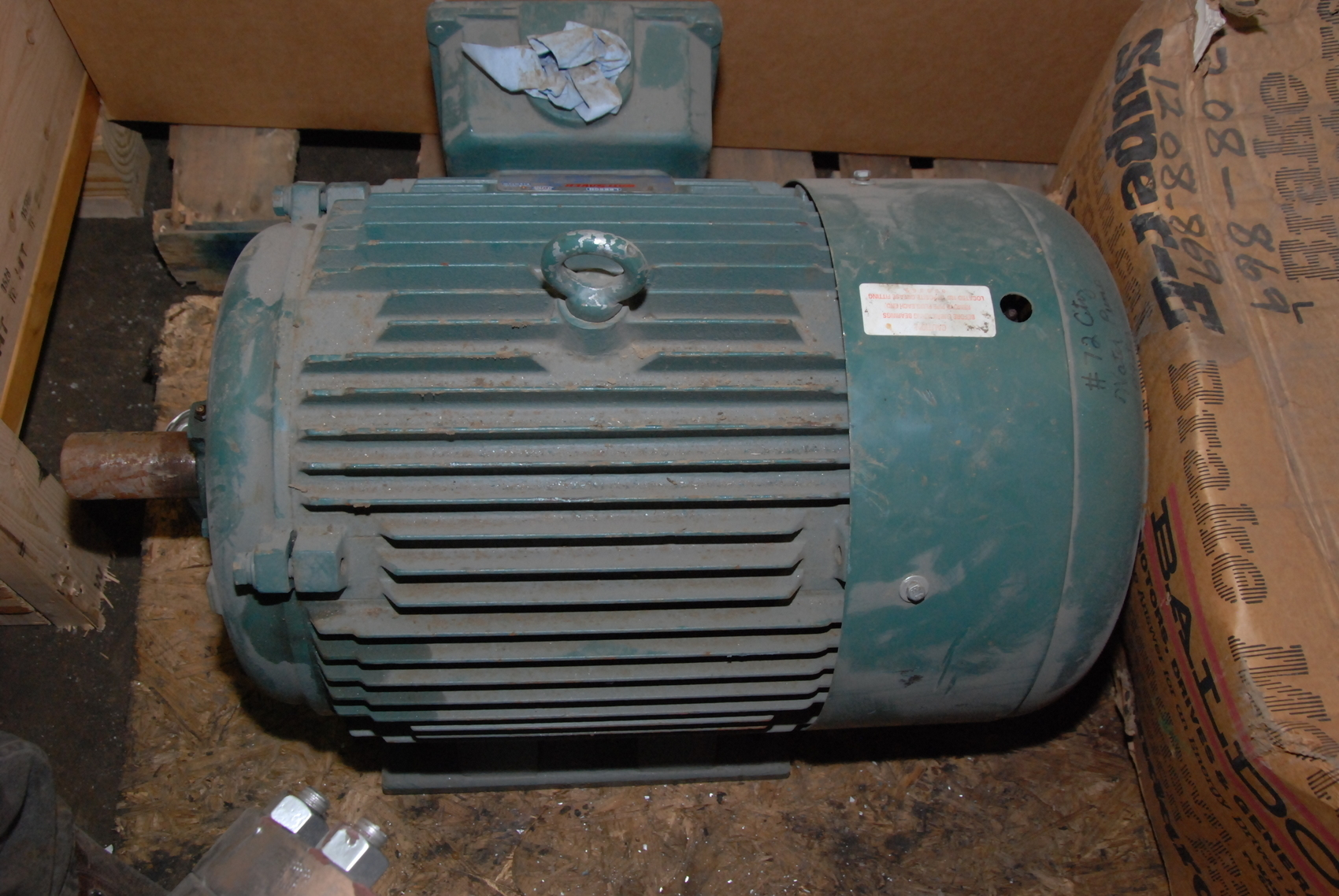 Leeson Wattsaver 40 30hp Electric Motor 3 Ph 3555 2960rpm