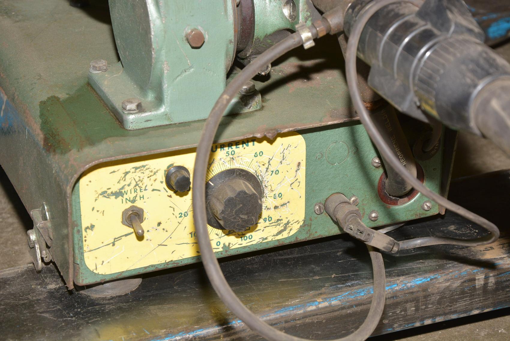 Used Mig Welders For Sale >> Linde Type SWM-23 MIG Welding Wire Feed w/Tweco Mig Gun INV=13378 | eBay