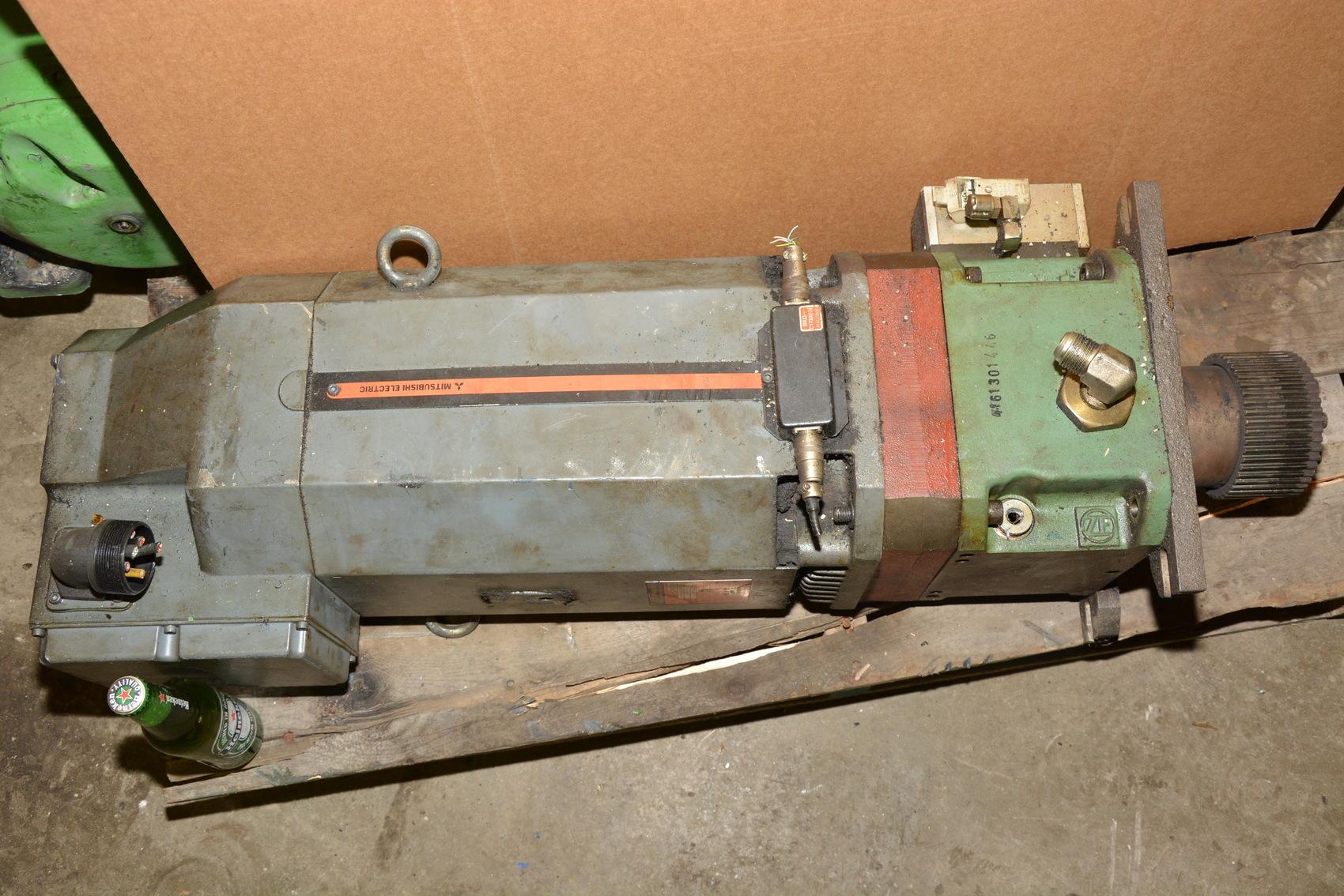 Mitsubishi ac spindle servo motor mod xw8zm 750 8000 rpm for 6000 rpm ac motor